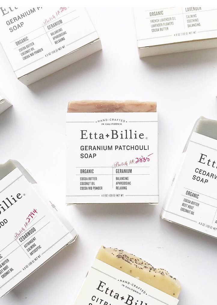 Etta + Billie Soaps, $14 each - If you're going the soap and beauty route, you'll be hard-pressed to find anything that tops the small-batch, made-in-San Francisco goodness of Etta + Billie. Order online, or check the website for the long list of local stockists.