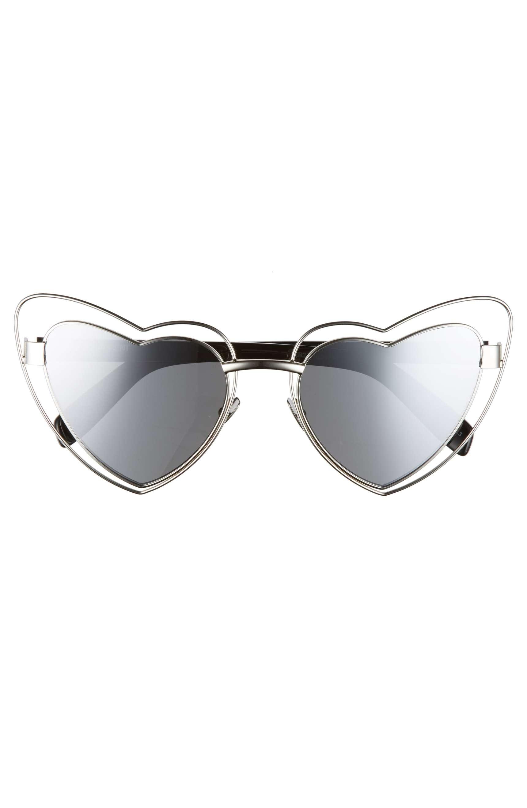 Saint Laurent Metal LouLou Glasses, $490