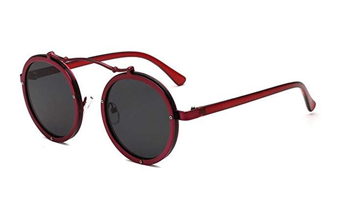 GAMT Round Metal Frame Hippie Sunglasses, $13.90