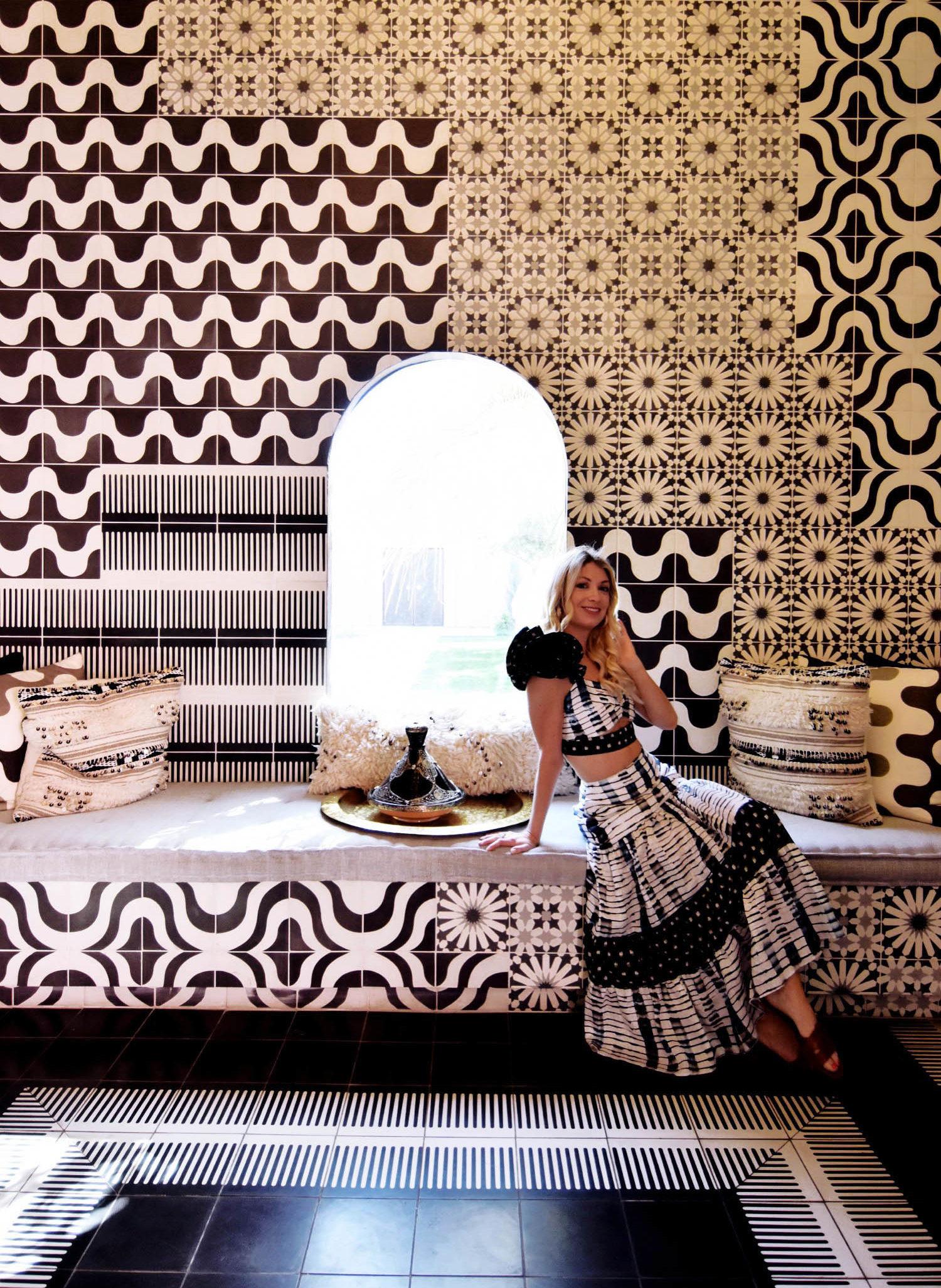 Stefanie Schoen in her own design. Photo:  The Style Safari