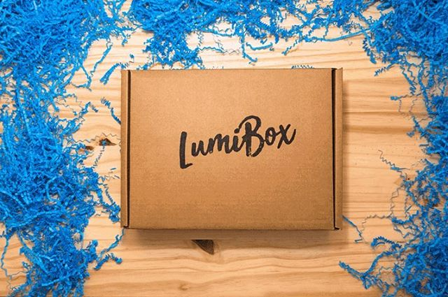 Pop open this month's LumiBox!