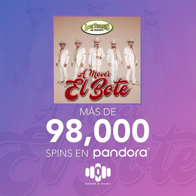 Gracias por todo su apoyo en #Pandora #AMoverElBote (Link En Nuestro Perfil) #LosTucanesDeTijuana