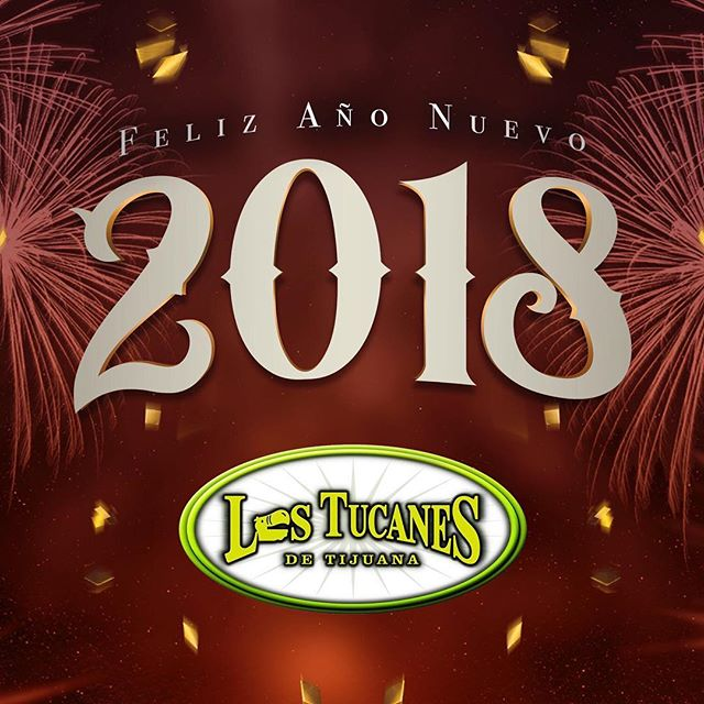 Feliz Año Nuevo de parte de todo nuestro equipo! Que tengan un excelente ańo 2018! Muchísimas gracias por todo su apoyo! #felizaño #felizańonuevo #feliz2018 #LosTucanesDeTijuana #tucanes #felicesfiestas
