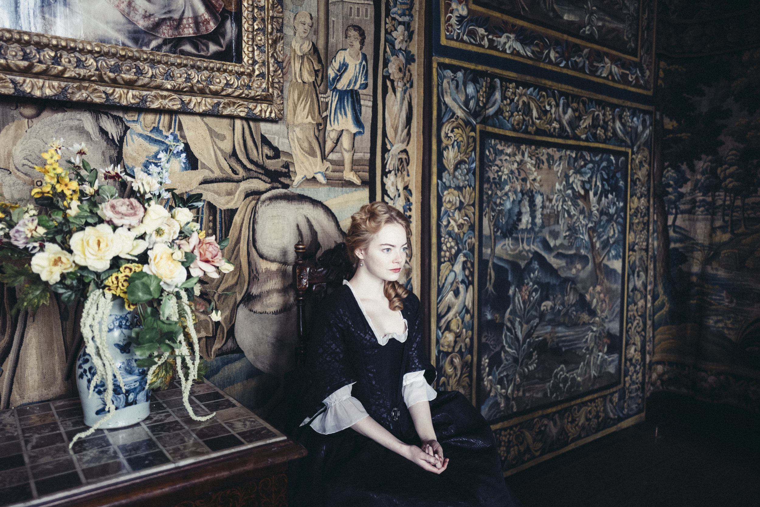 Emma Stone as Abigail. Photo by Yorgos Lanthimos. © 2018 Twentieth Century Fox Film Corporation All Rights Reserved