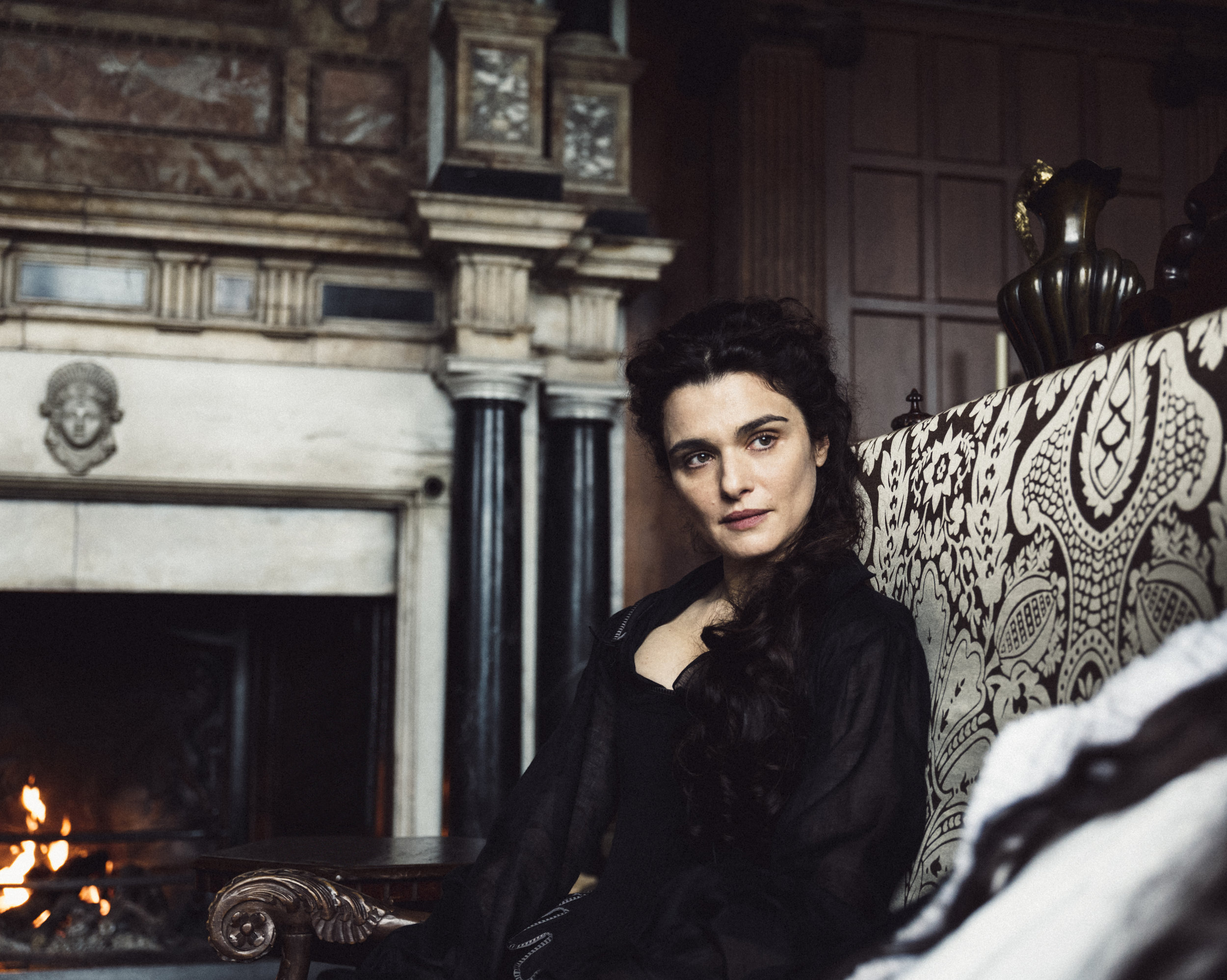 Rachel Weisz as Lady Sarah. Photo by Yorgos Lanthimos. © 2018 Twentieth Century Fox Film Corporation All Rights Reserved