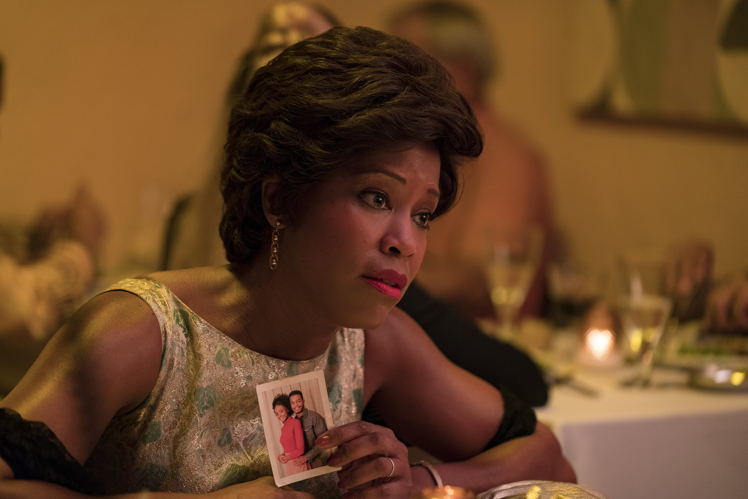 Regina King in If Beale Street Could Talk. Credit: Tatum Mangus / Annapurna Pictures; ©2018 Annapurna Releasing, LLC. All Rights Reserved.