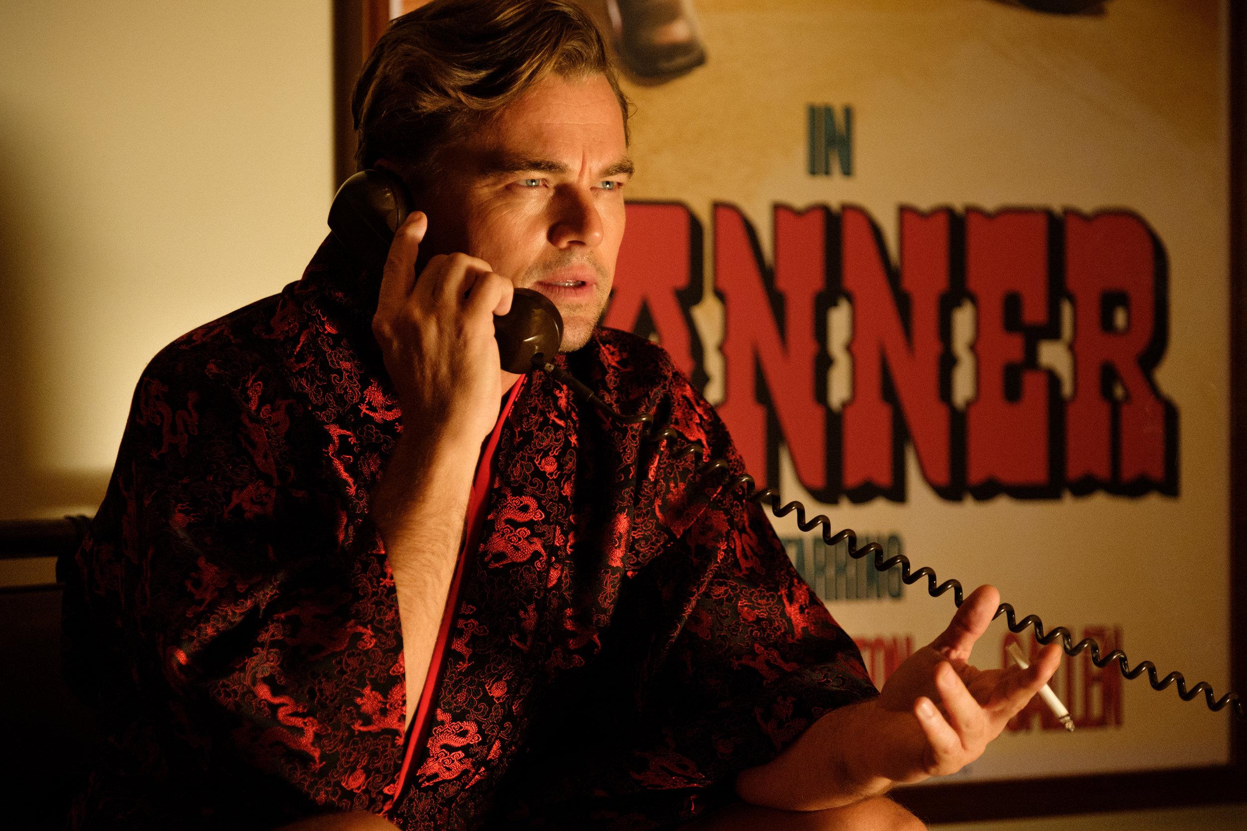 Leonardo DiCaprio as Rick Dalton  (Credit: Andrew Cooper)