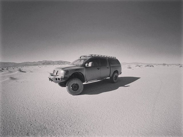 Getting closer and closer to #Outbreak day! We will be updating our website with specs and pictures over the next few weeks, for now, a quick teaser of our Newberry Springs #photoshoot  #Zombieracks #RoofRack #Cargorack #Offroad #Explore #Desert #Blackandwhite