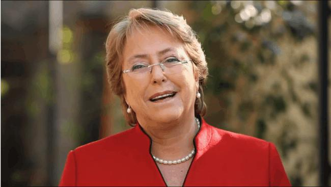 Michelle Bachelet - First Woman President in Chile