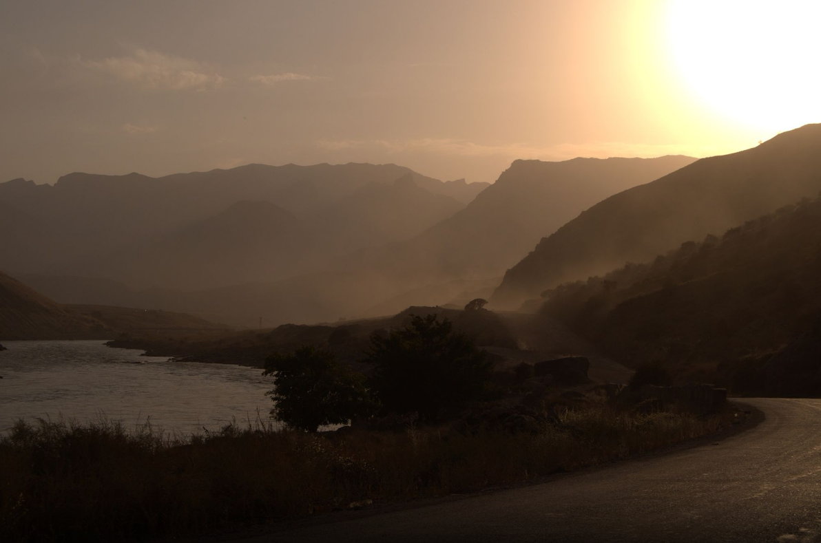 Somewhere between Dushanbe and Khorog