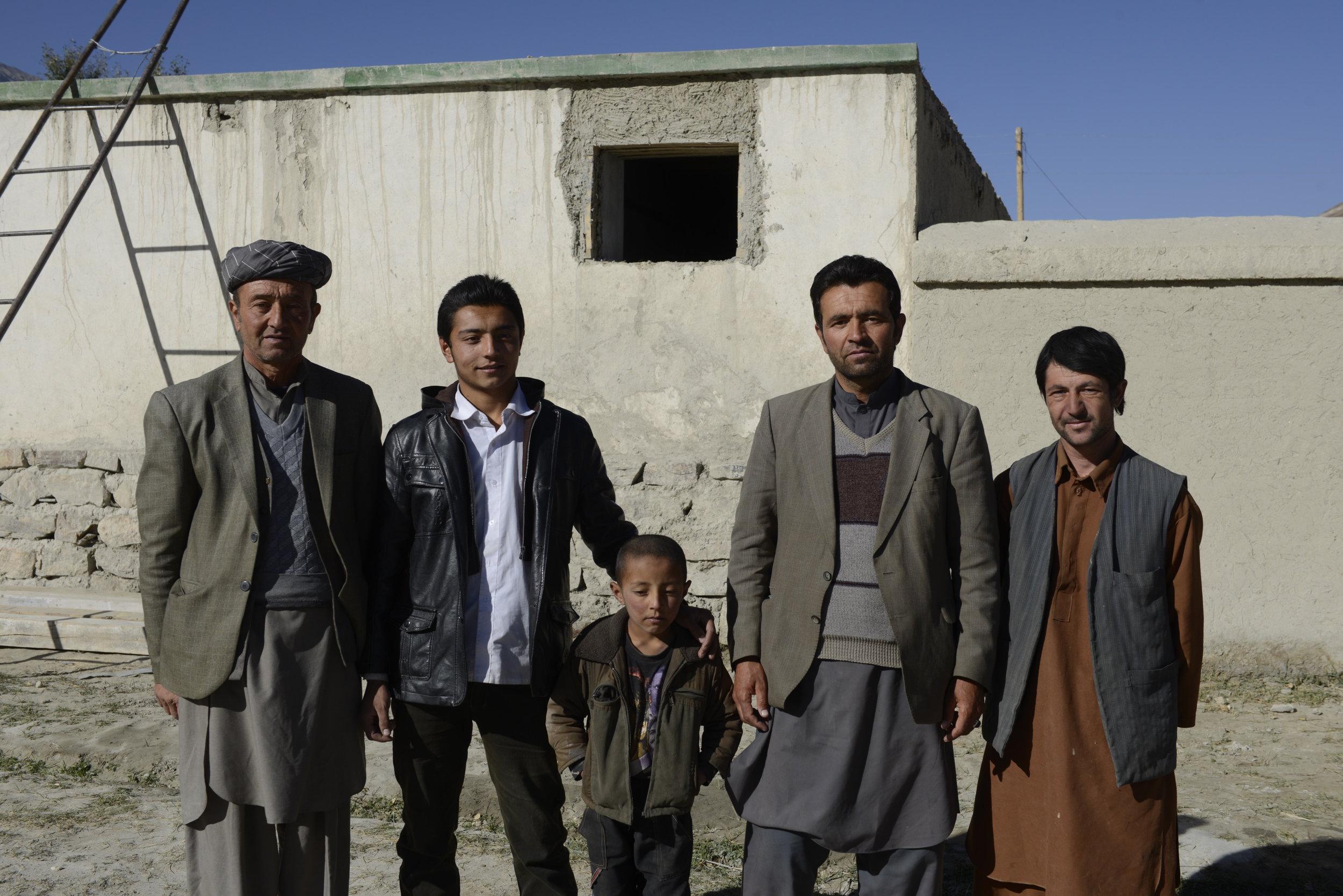 A Pamiri Village in the Wakhan Corridor, Qala-e-Panja, Afghanistan