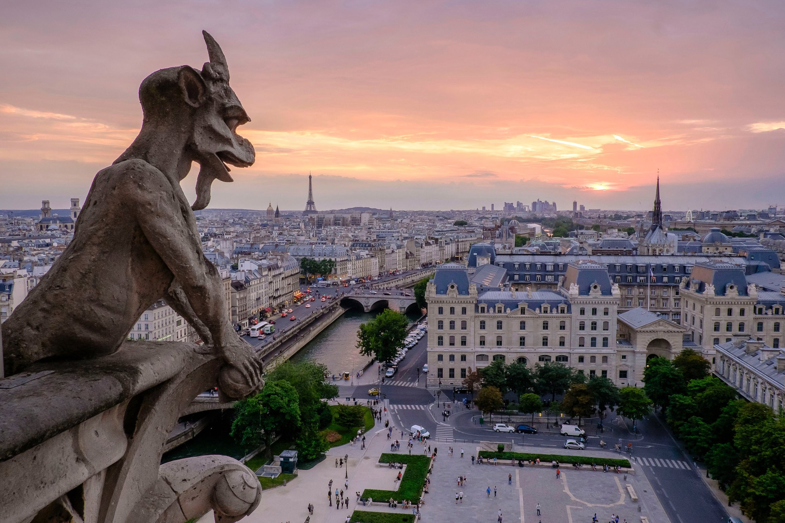 Gargolas Notre Dame - Paris