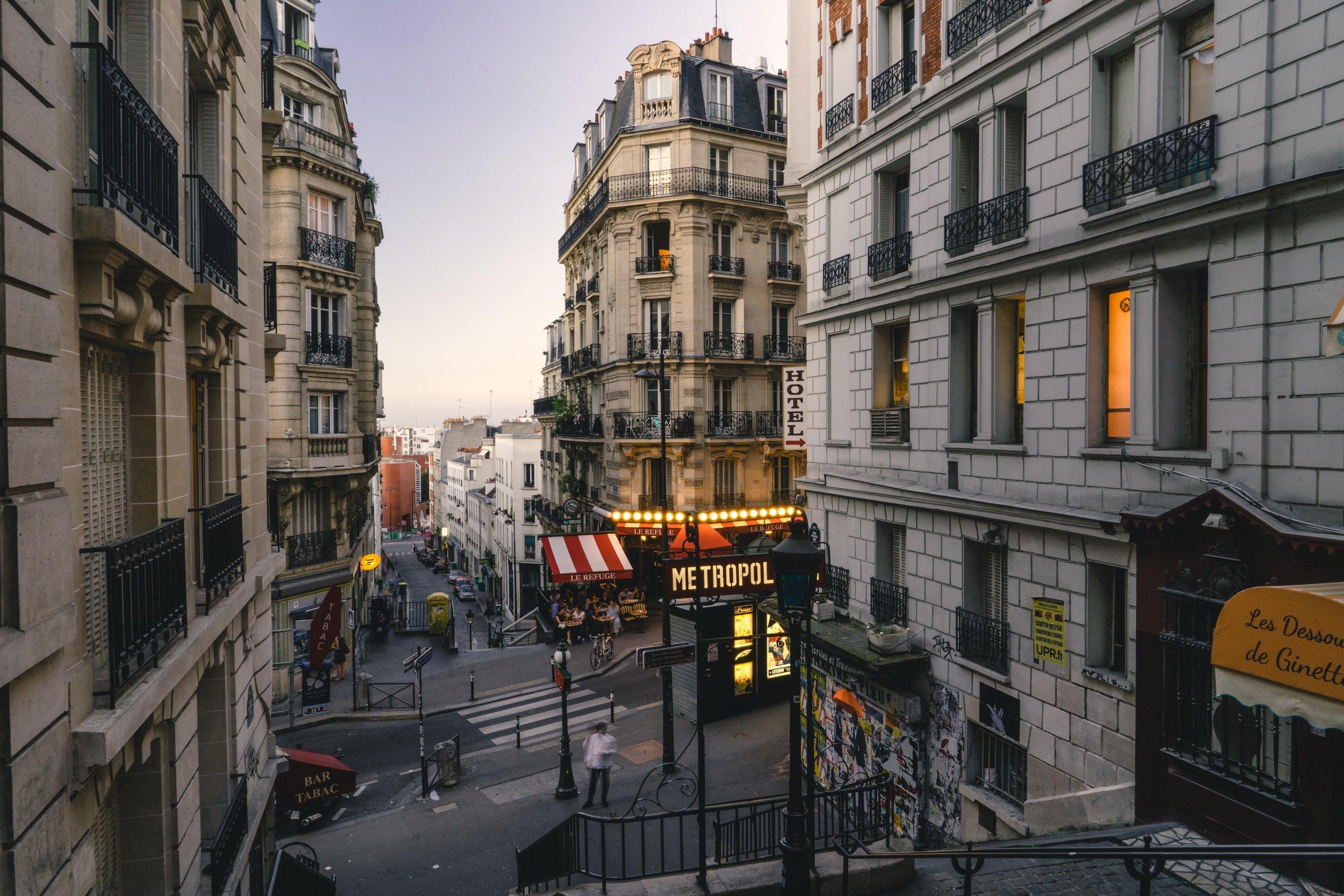 Calles de Montmarte