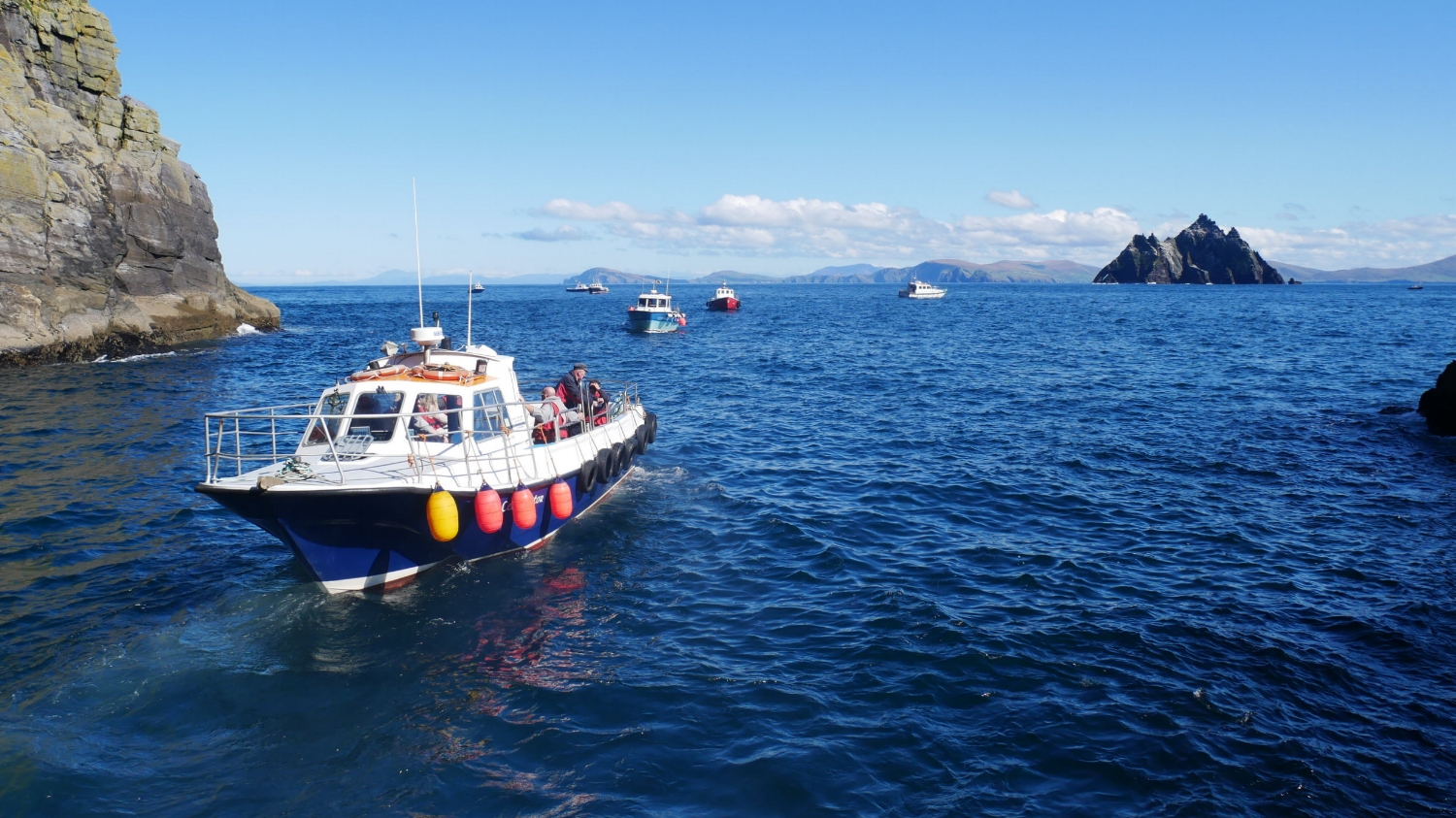 Barco Landing Tour Skellig Islands