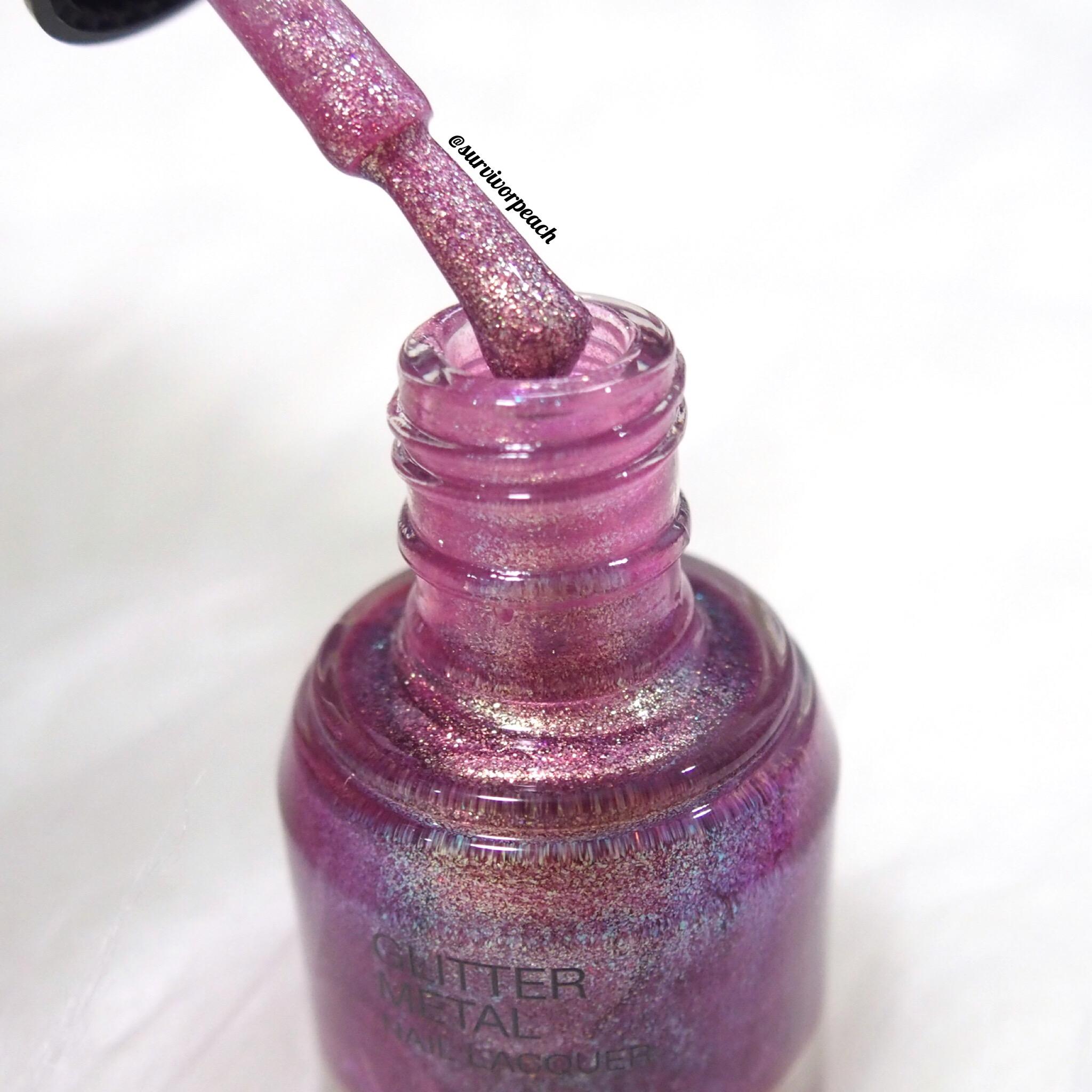 Kiko Glitter Metal Nail Laquer