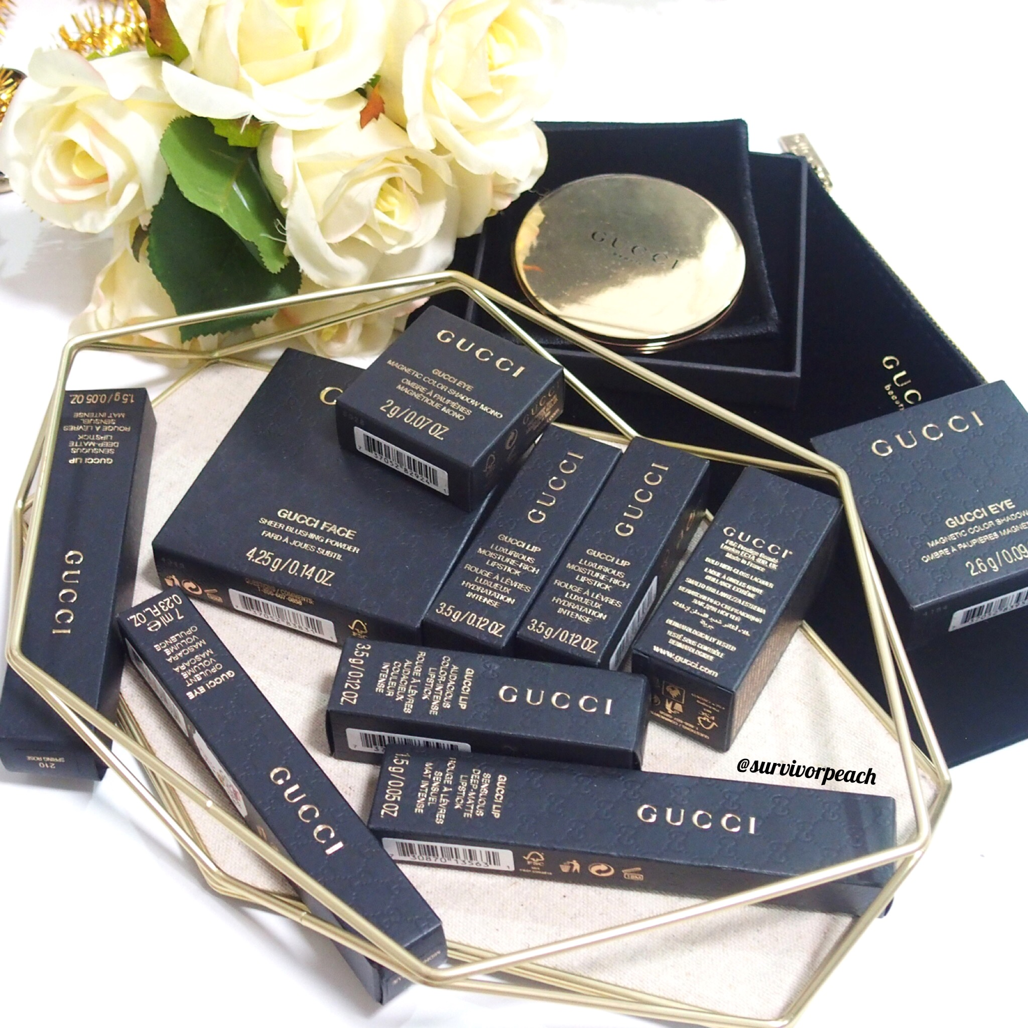 Gucci Beauty packaging
