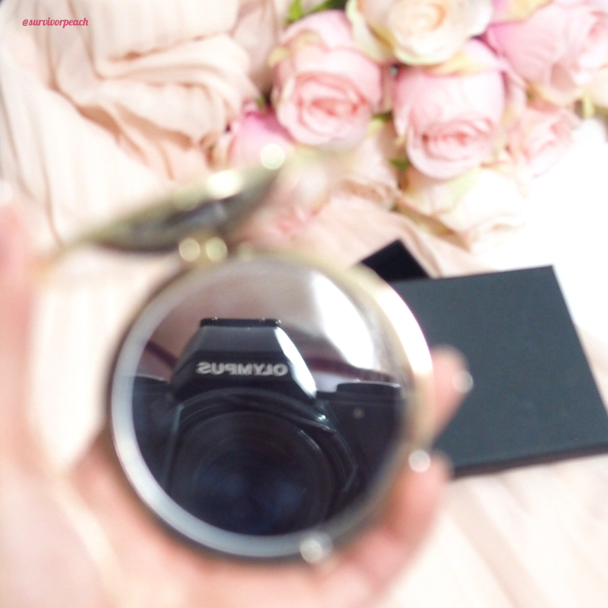Free compact mirror from Gucci
