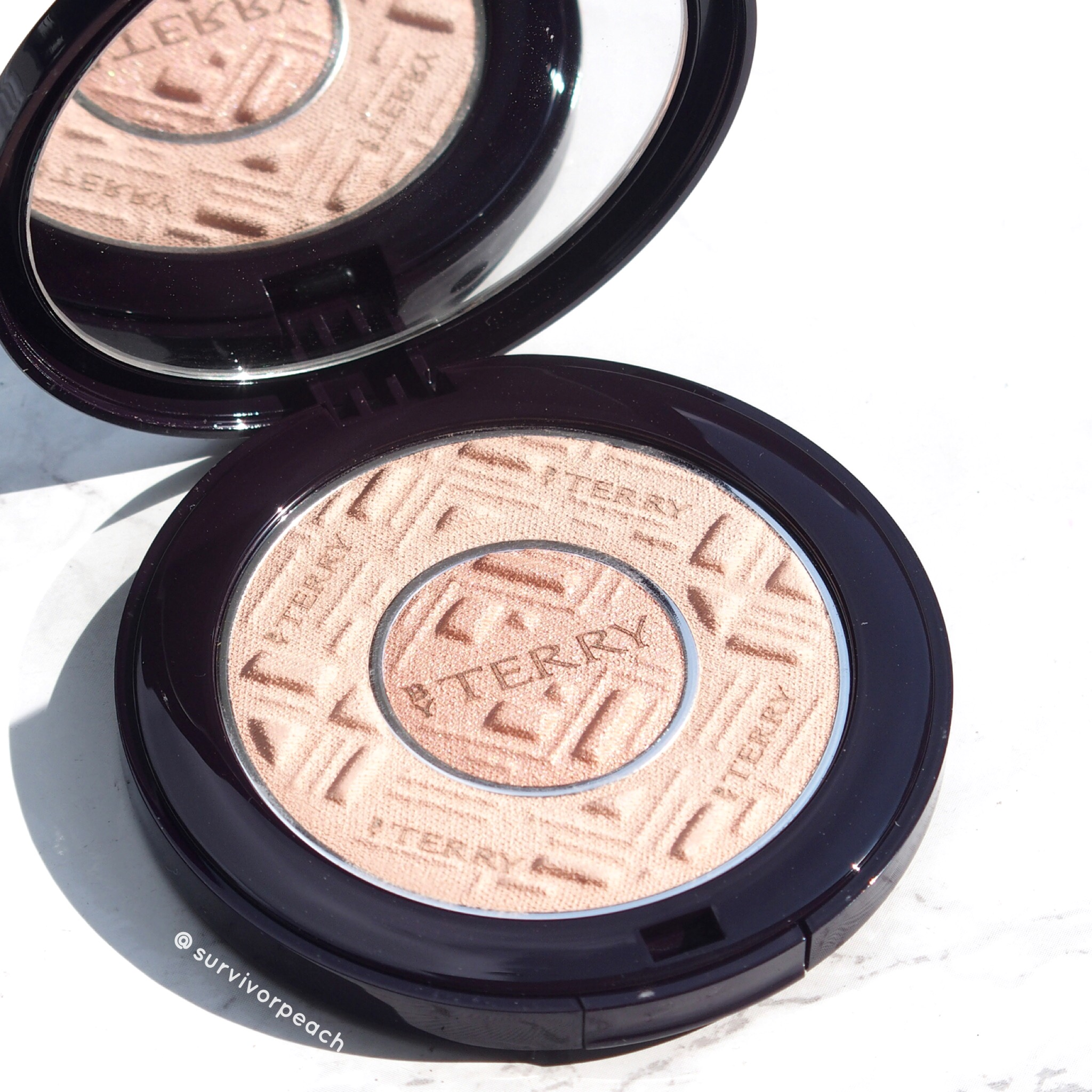 ByTerry Compact-Expert Dual Powder in Apricot Glow!