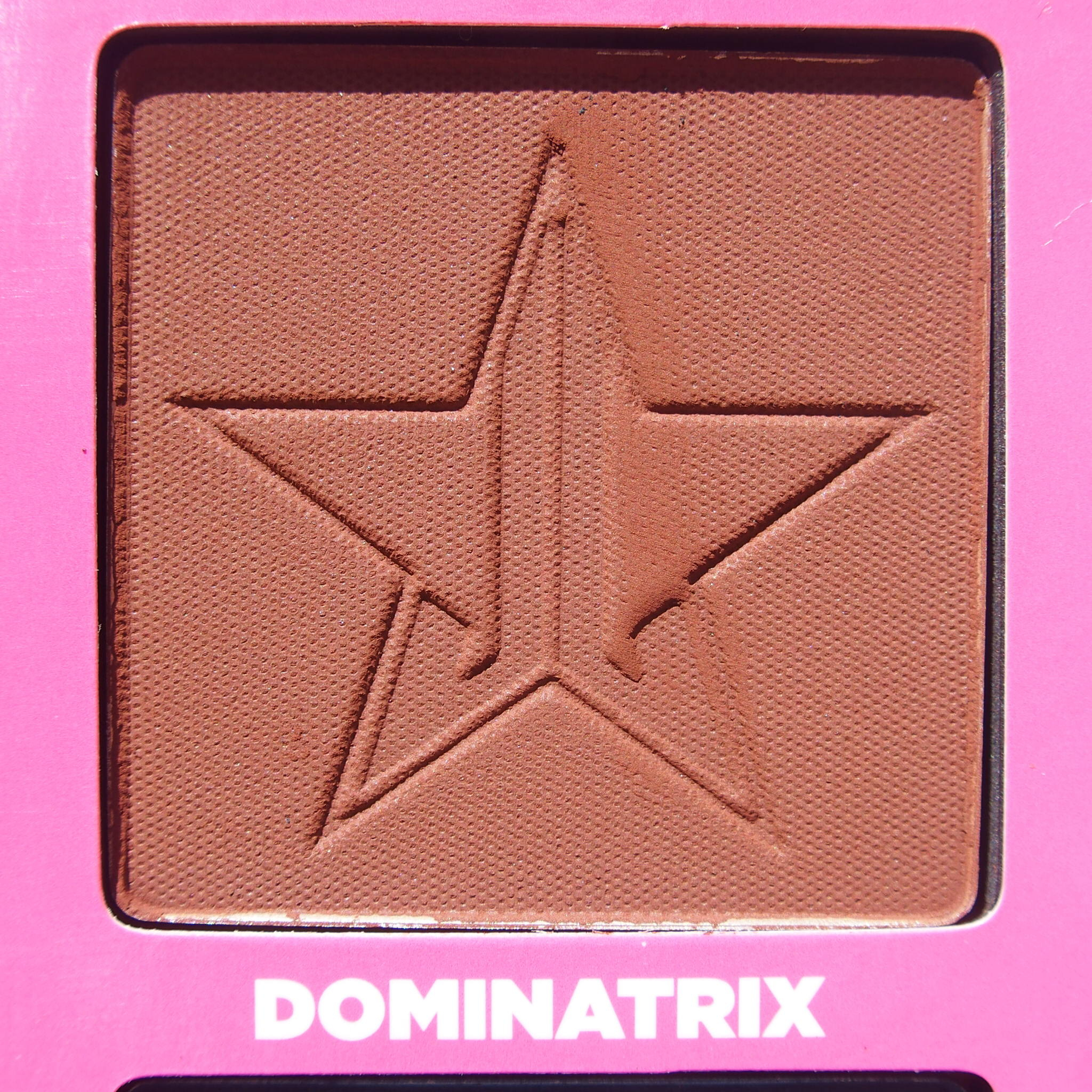 Close up of Dominatrix from the Jeffree Star Androgyny Palette