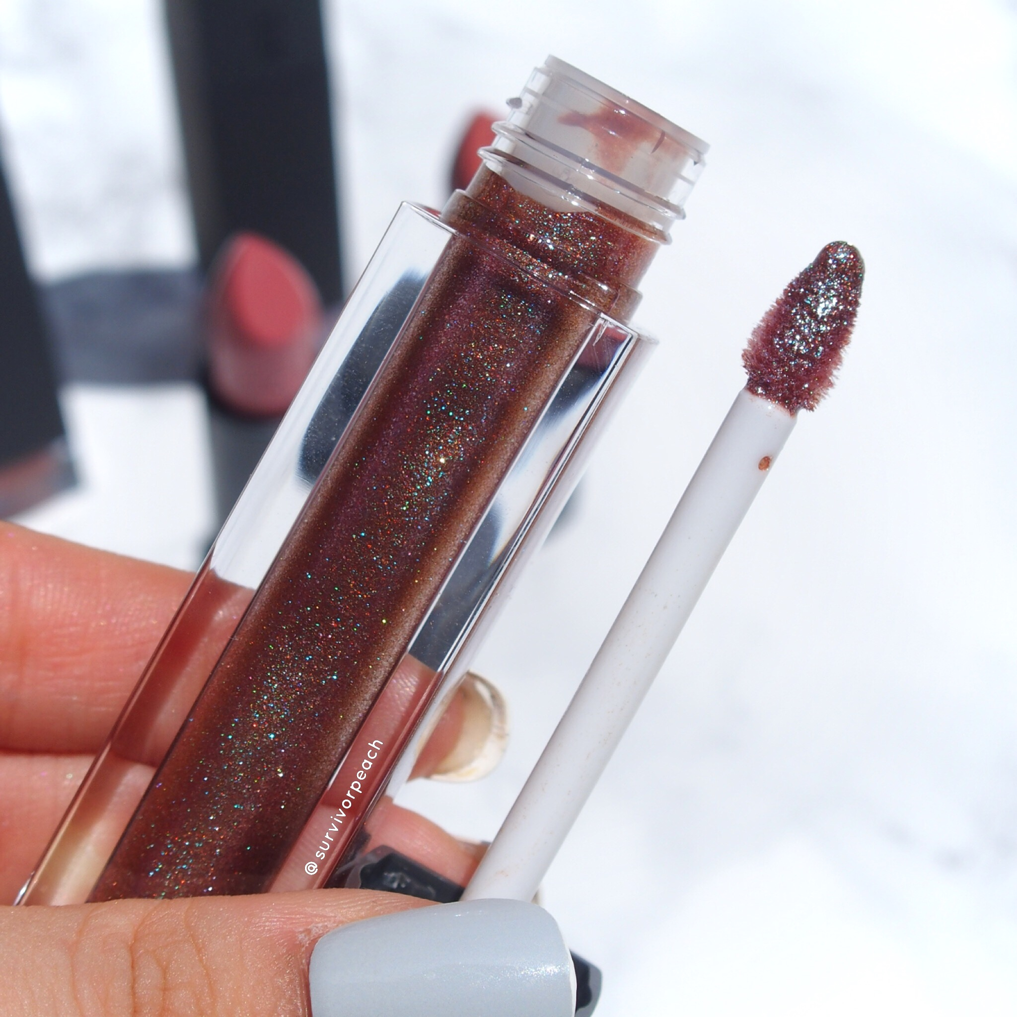 Bite Beauty Prismatic Pearl Creme Lip glosses in Oyster Pearl
