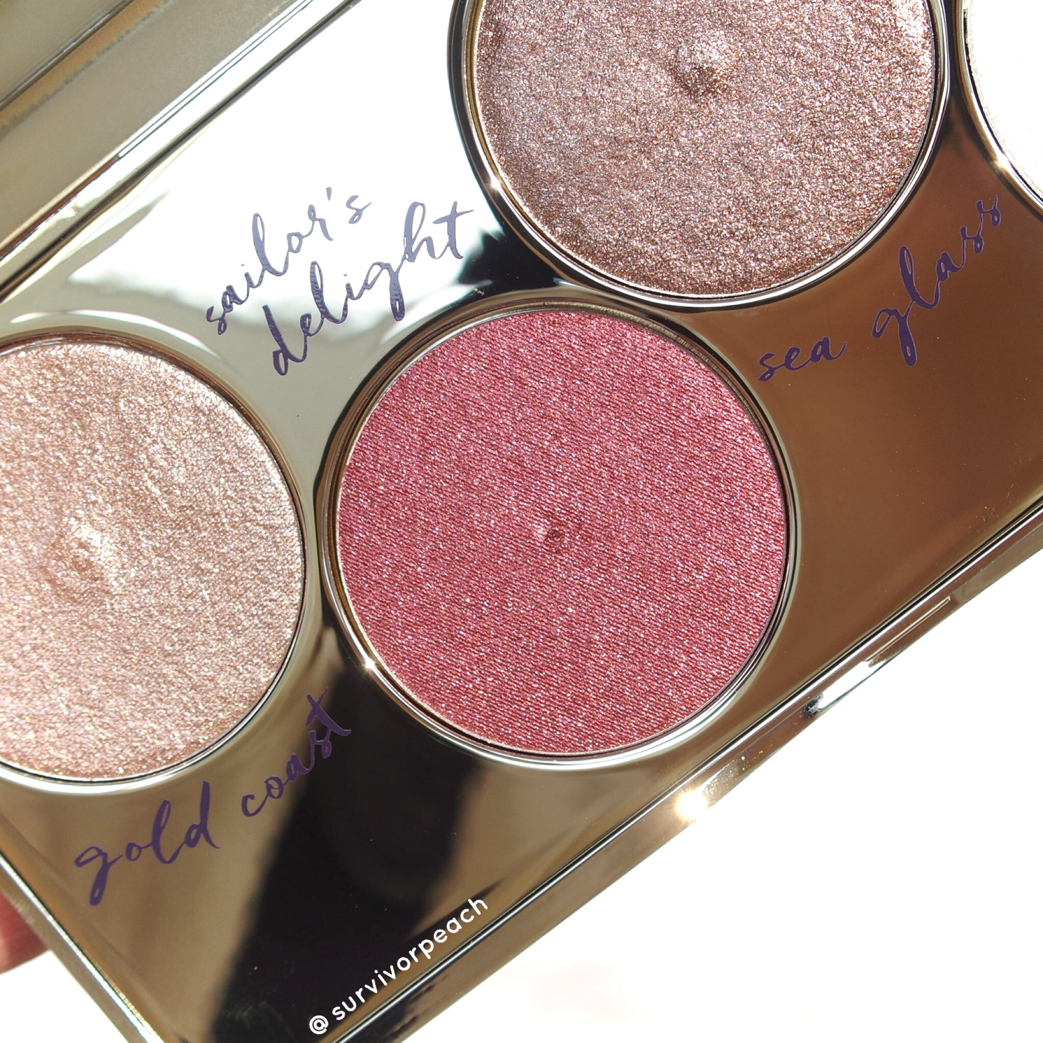 Tarte Foiled Fingers eyeshadow palette - shimmer shade