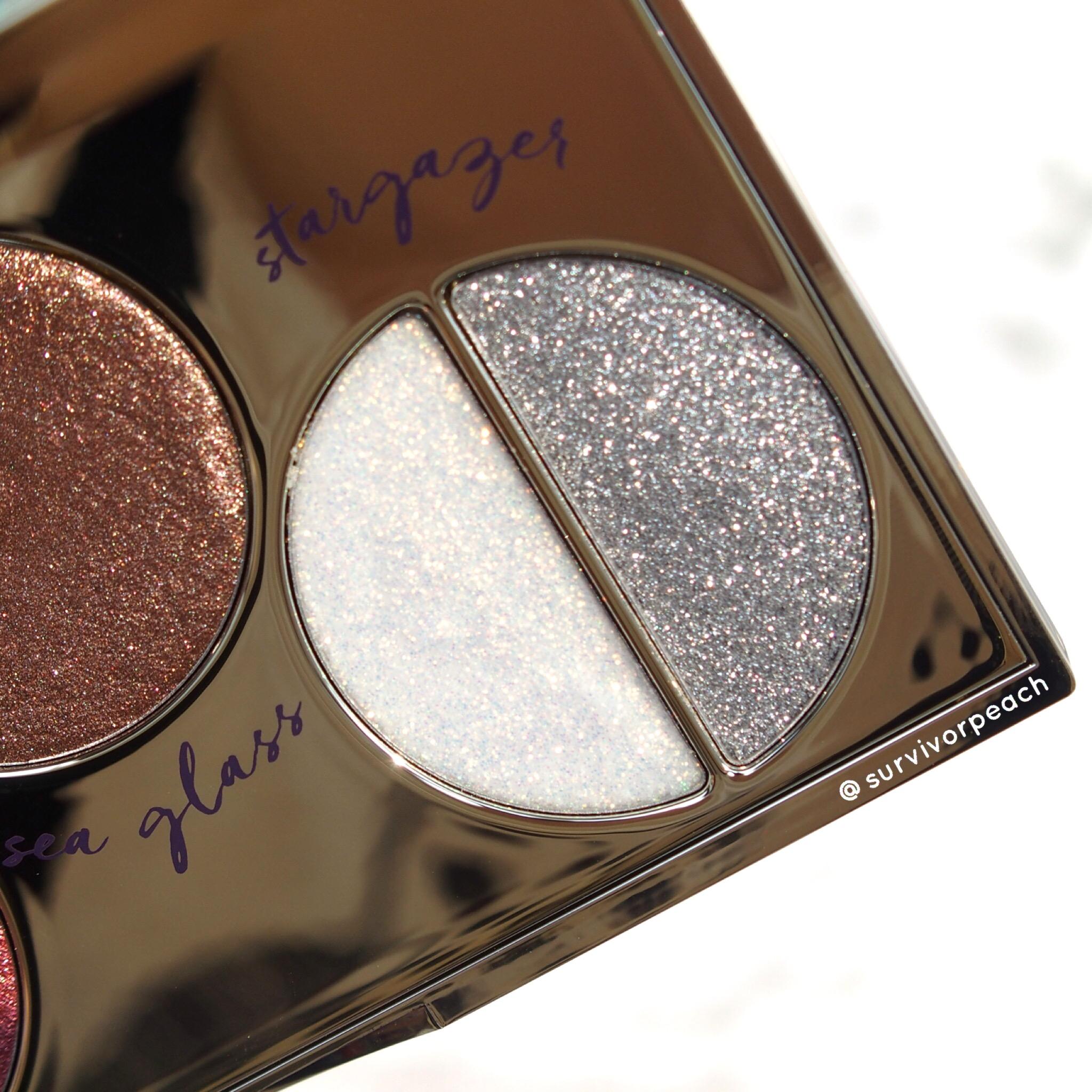 Tarte Foiled Fingers eyeshadow palette - Glitter shades