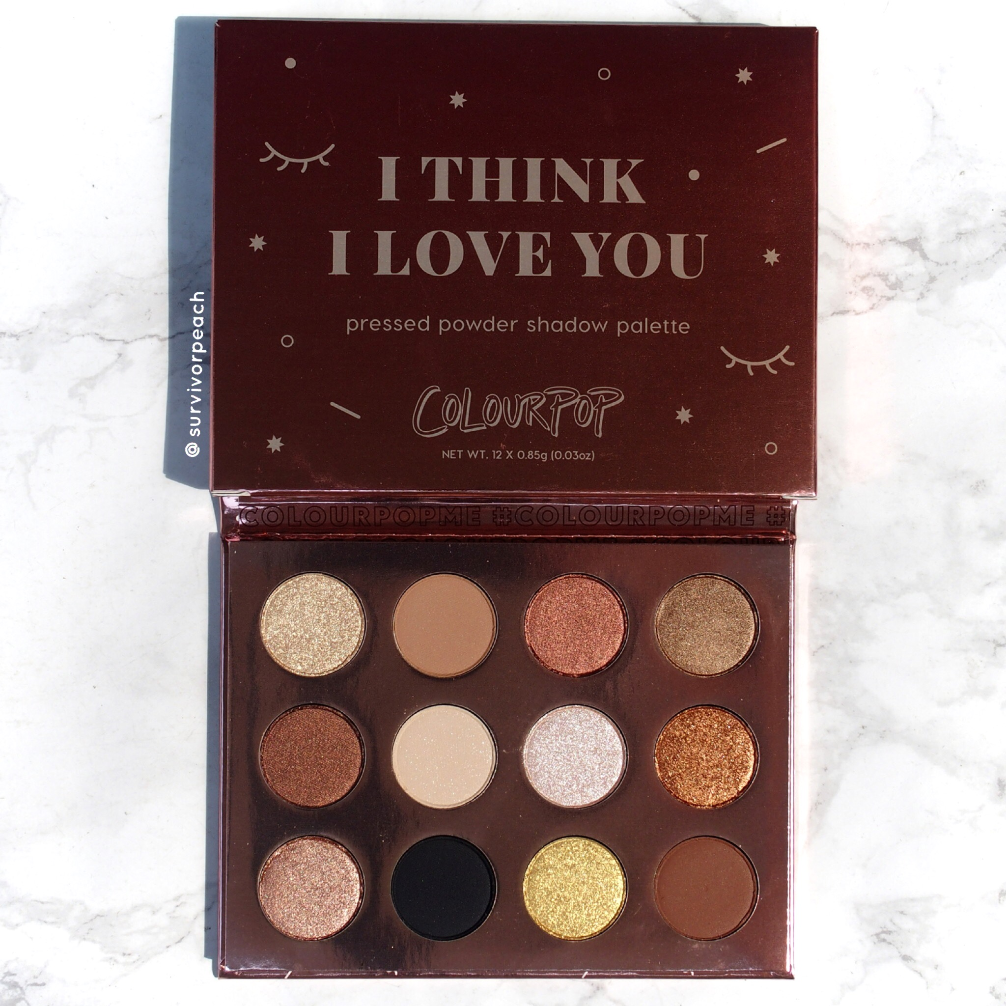Colourpop  I Think I Love You palette