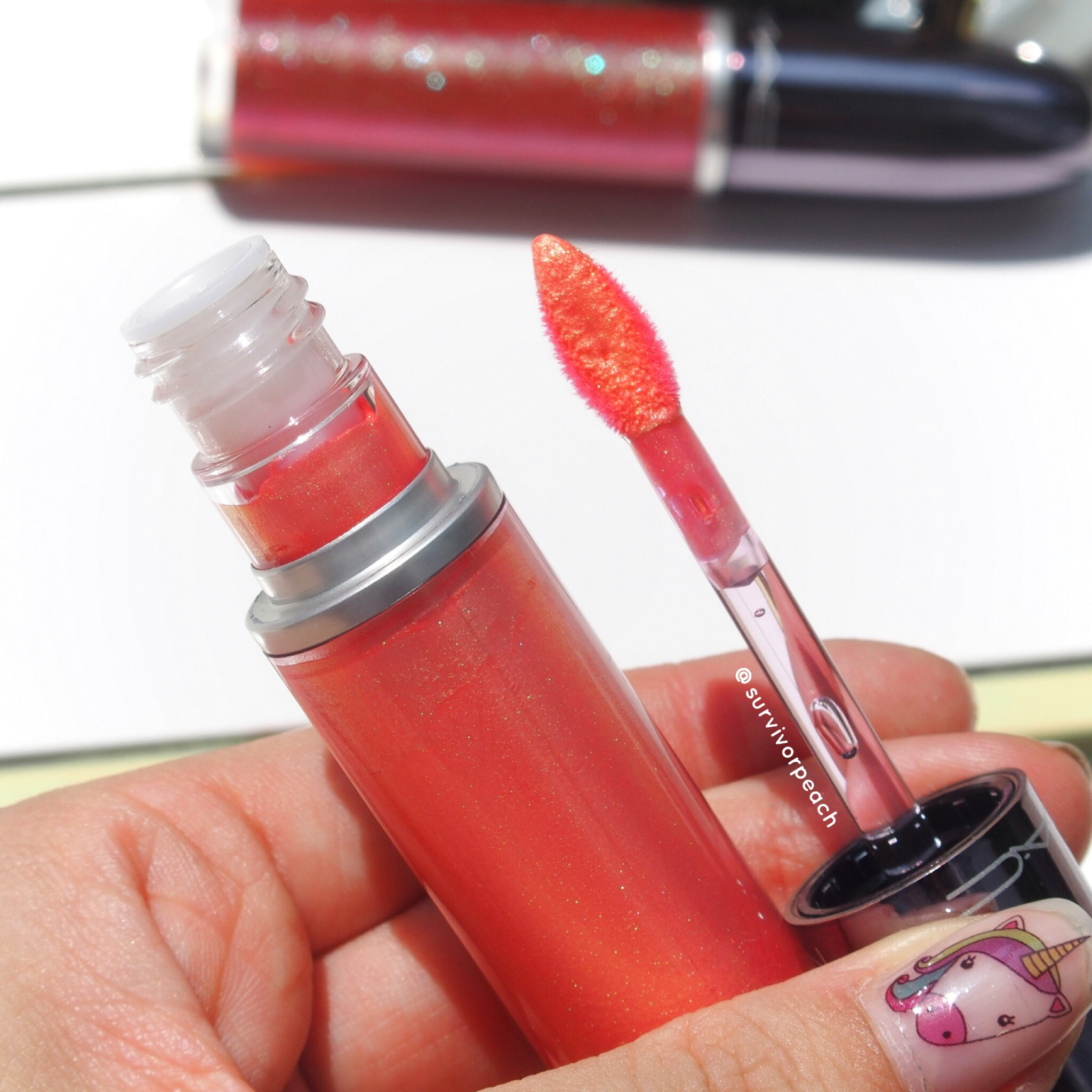 Mac Grand Illusion lipsticks Electric Rainbow