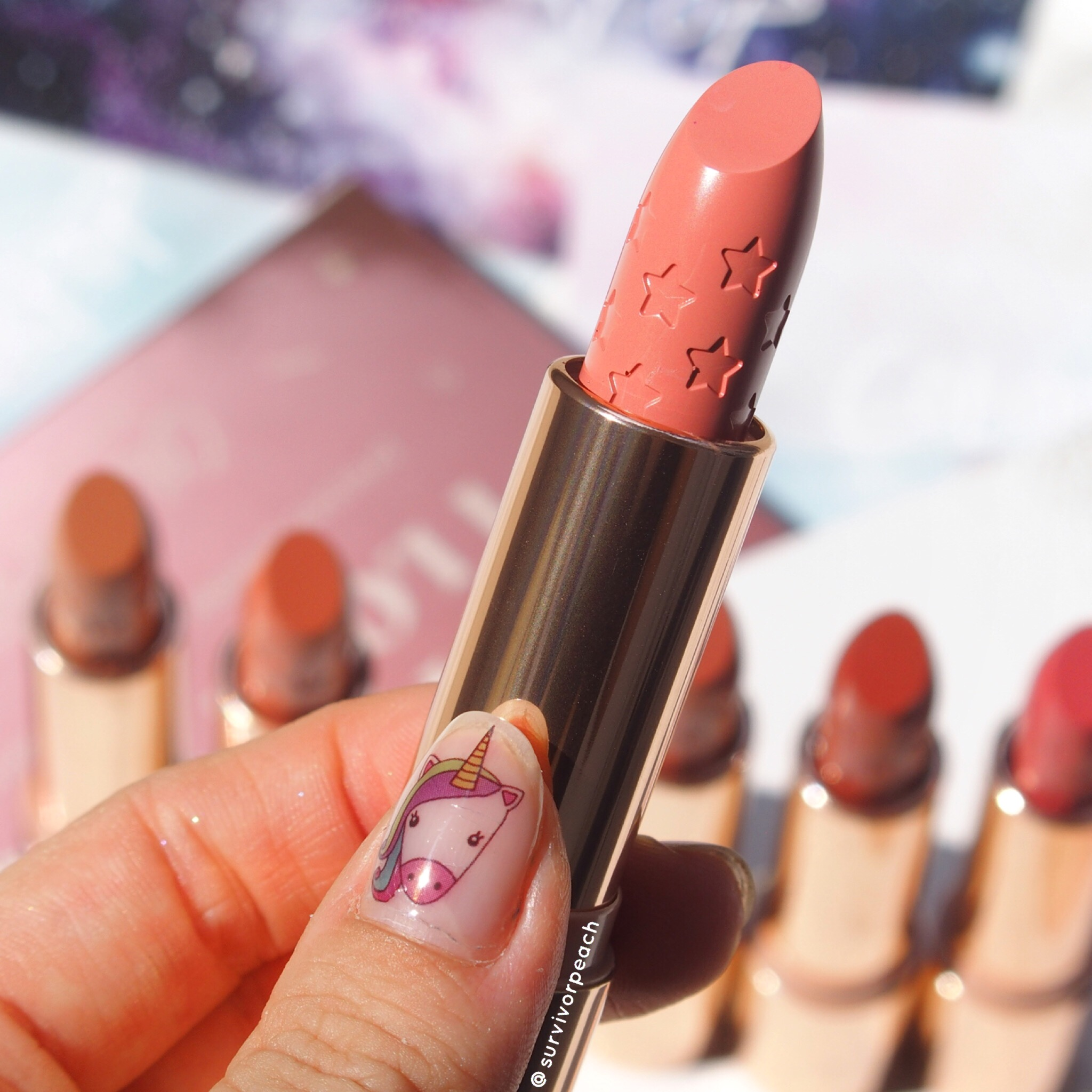 Colourpop Lux Lipsticks Stone Fox