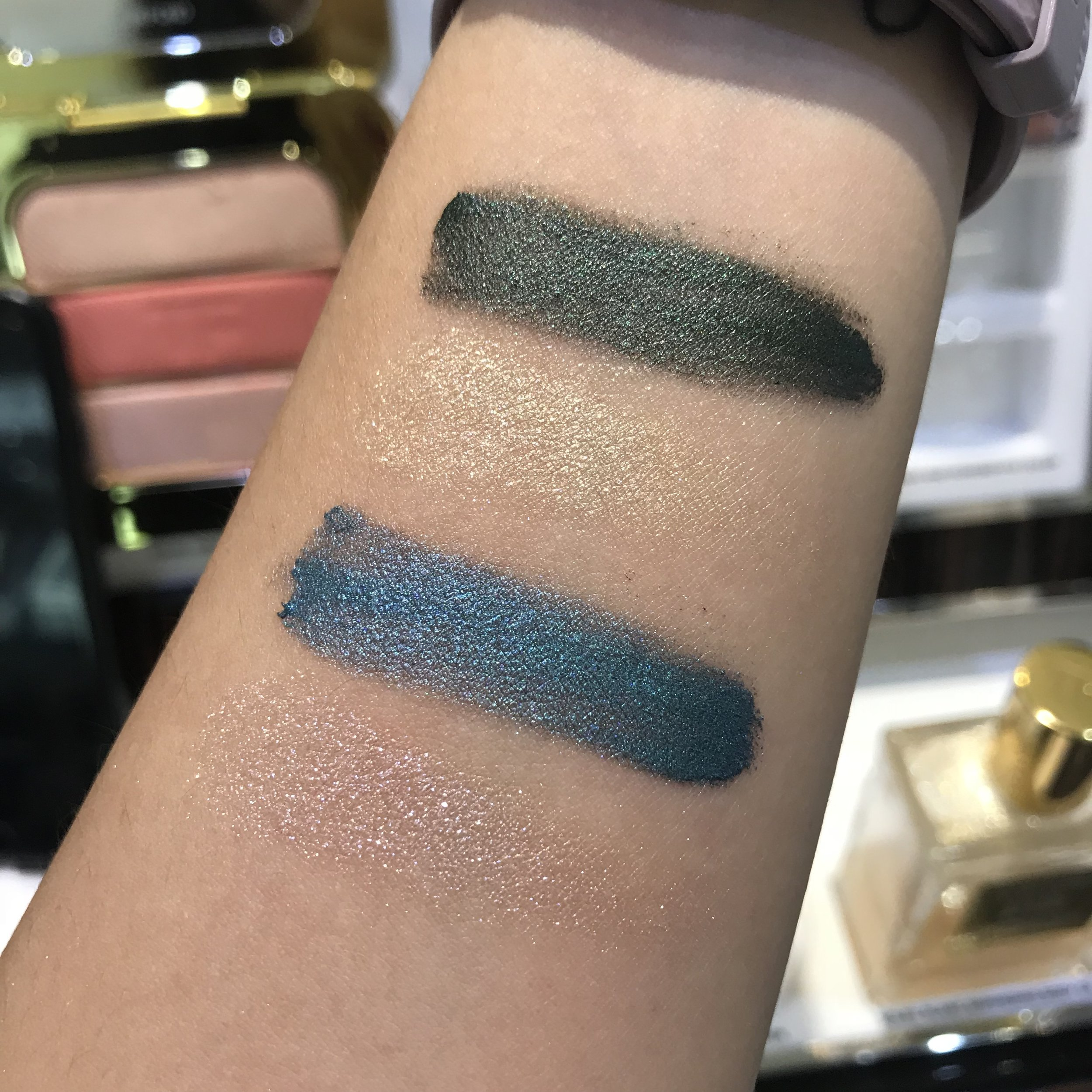 Tomford Cream to Powder eyeshadow duo in shade Emerald Isles and Azure