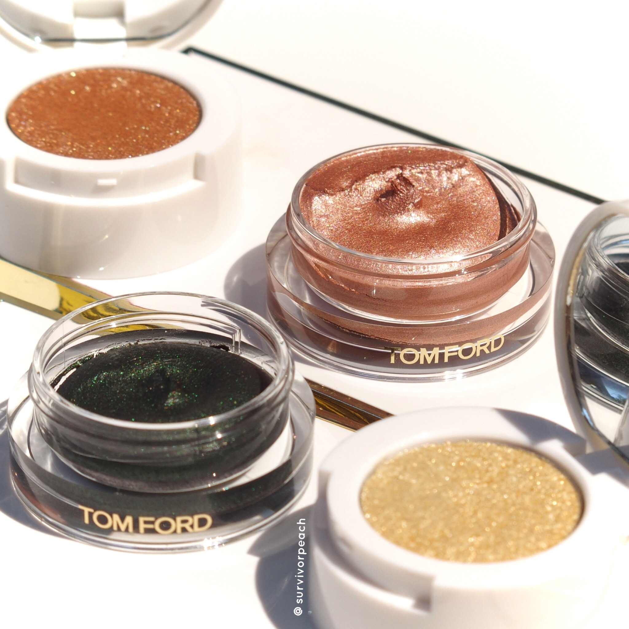 Tomford Cream to Powder eyeshadow duos