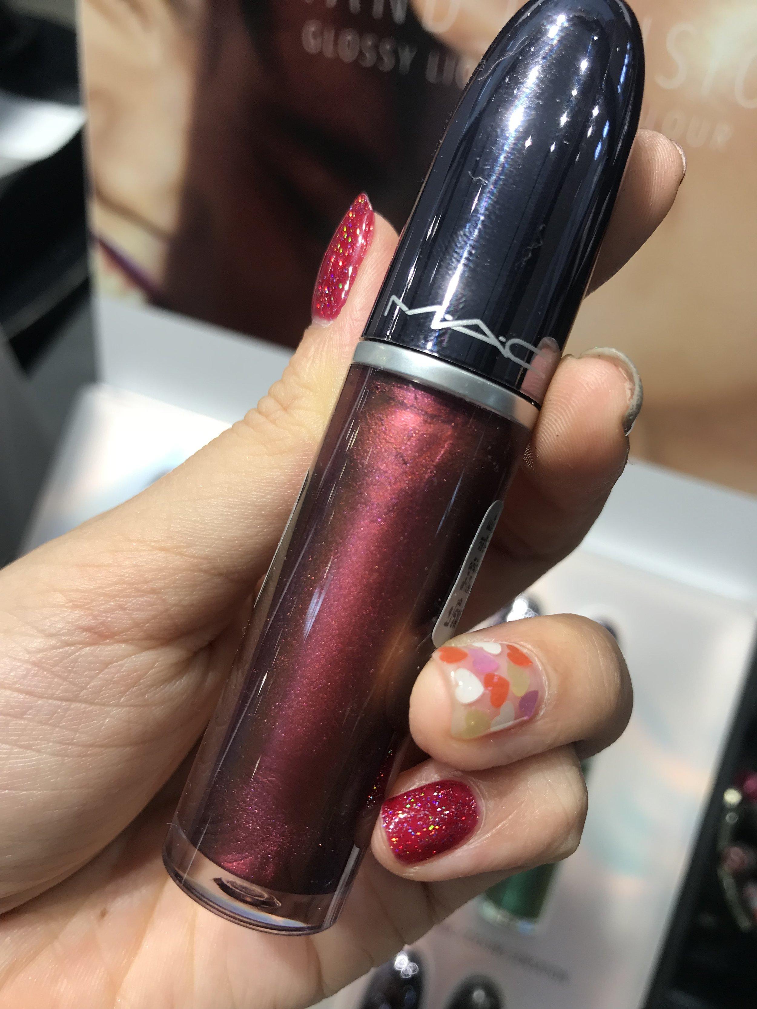 Mac Grand Illusion lipsticks Space Bubble
