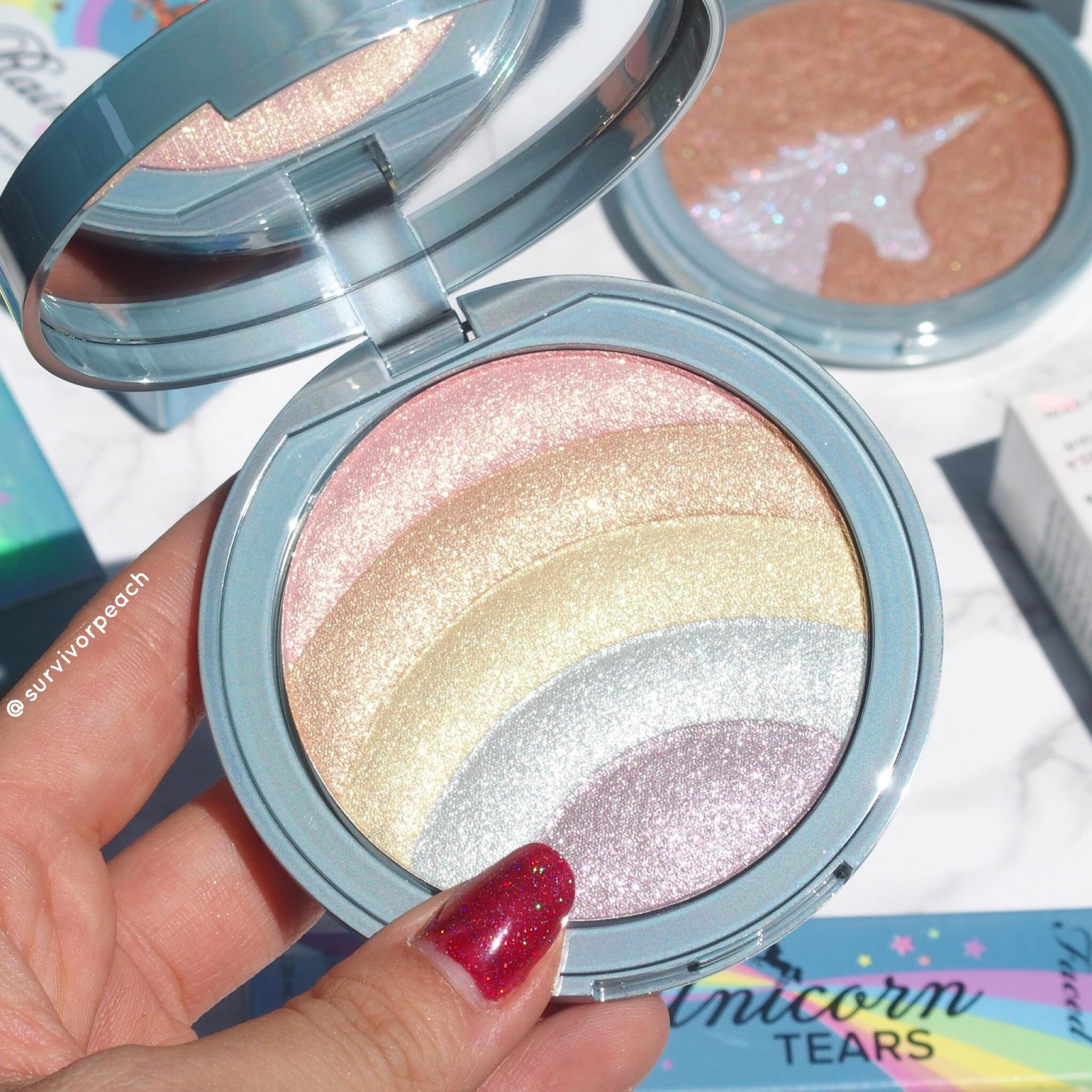 Toofaced Rainbow Strobe Rainbow Effect Highlighter