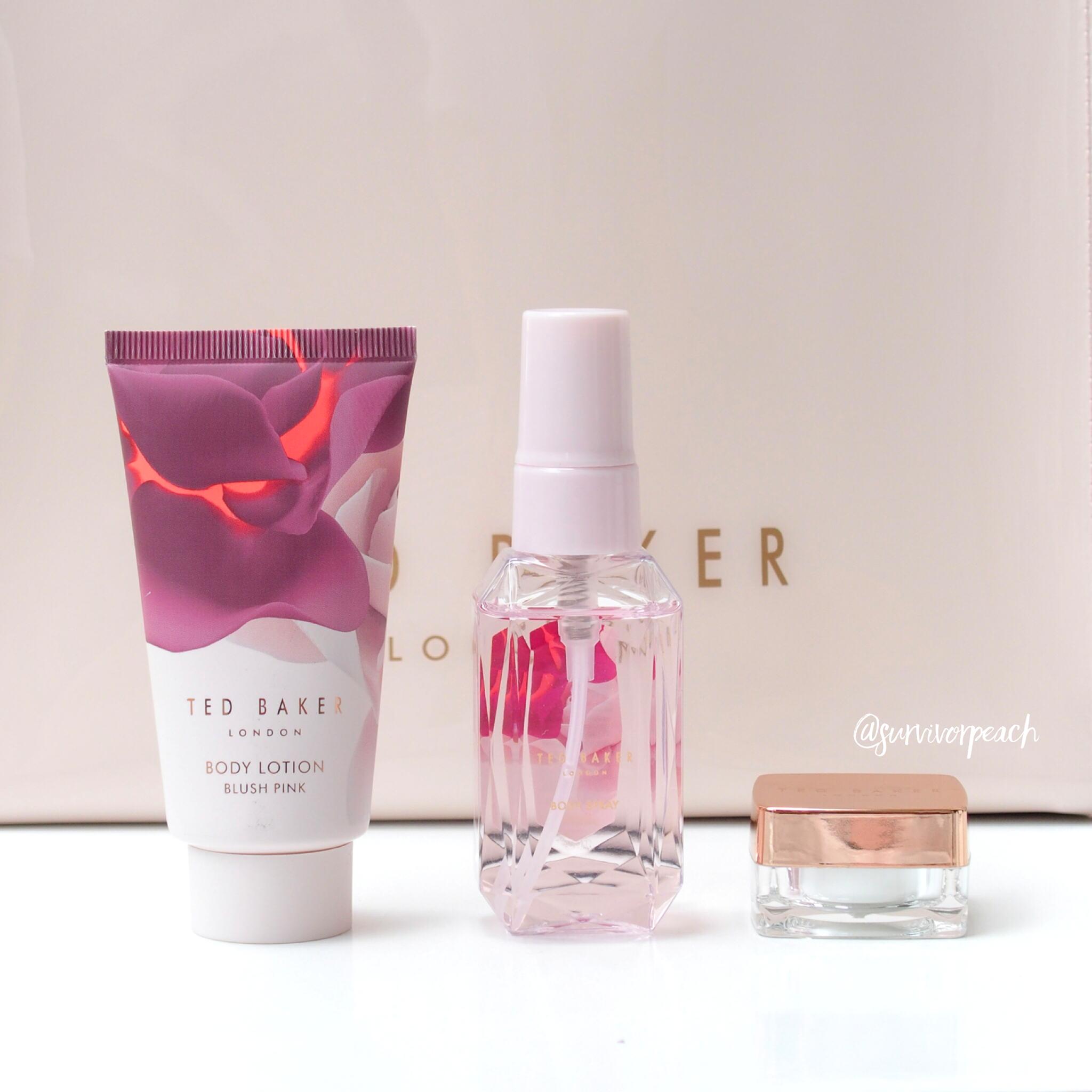 Ted Baker Blush Pink Mini Set