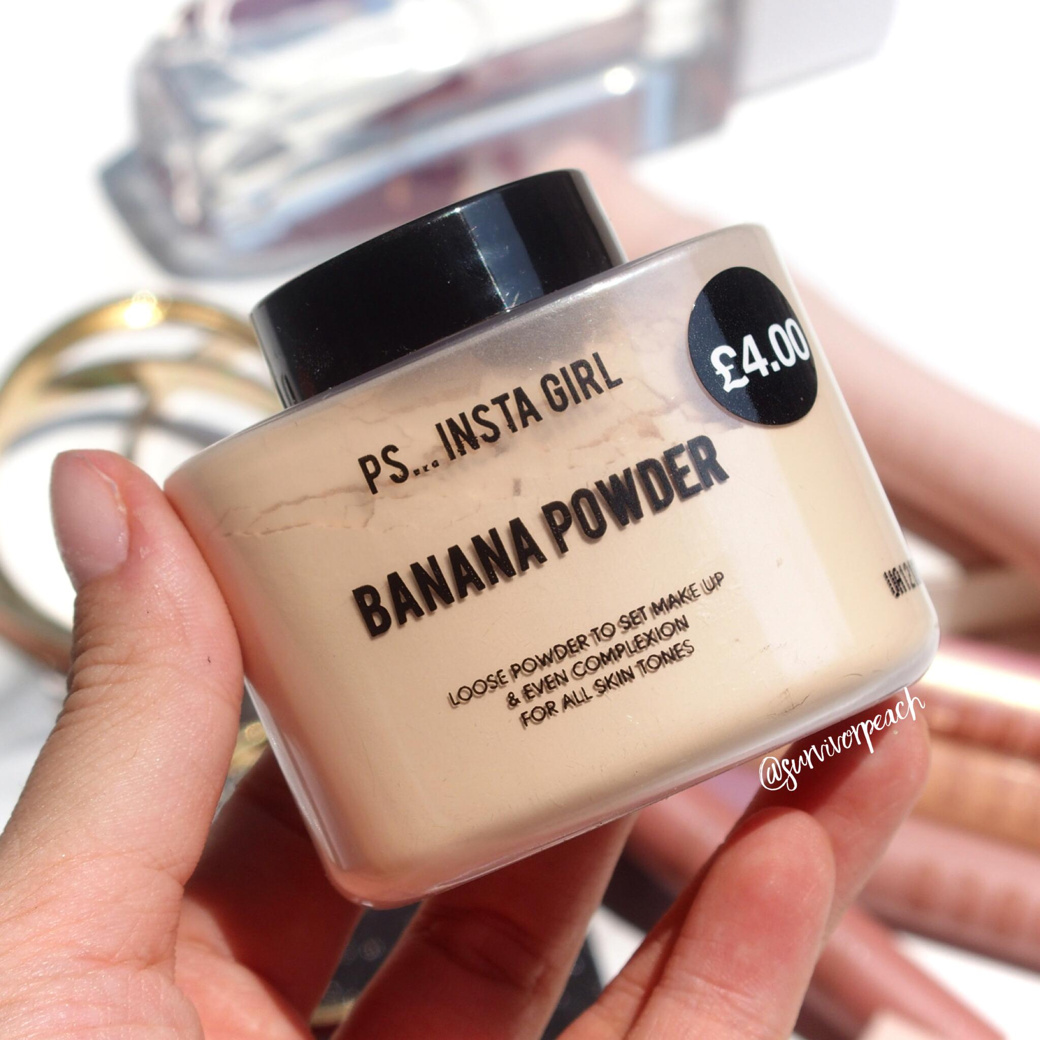 Primark PS Insta Girl banana Powder