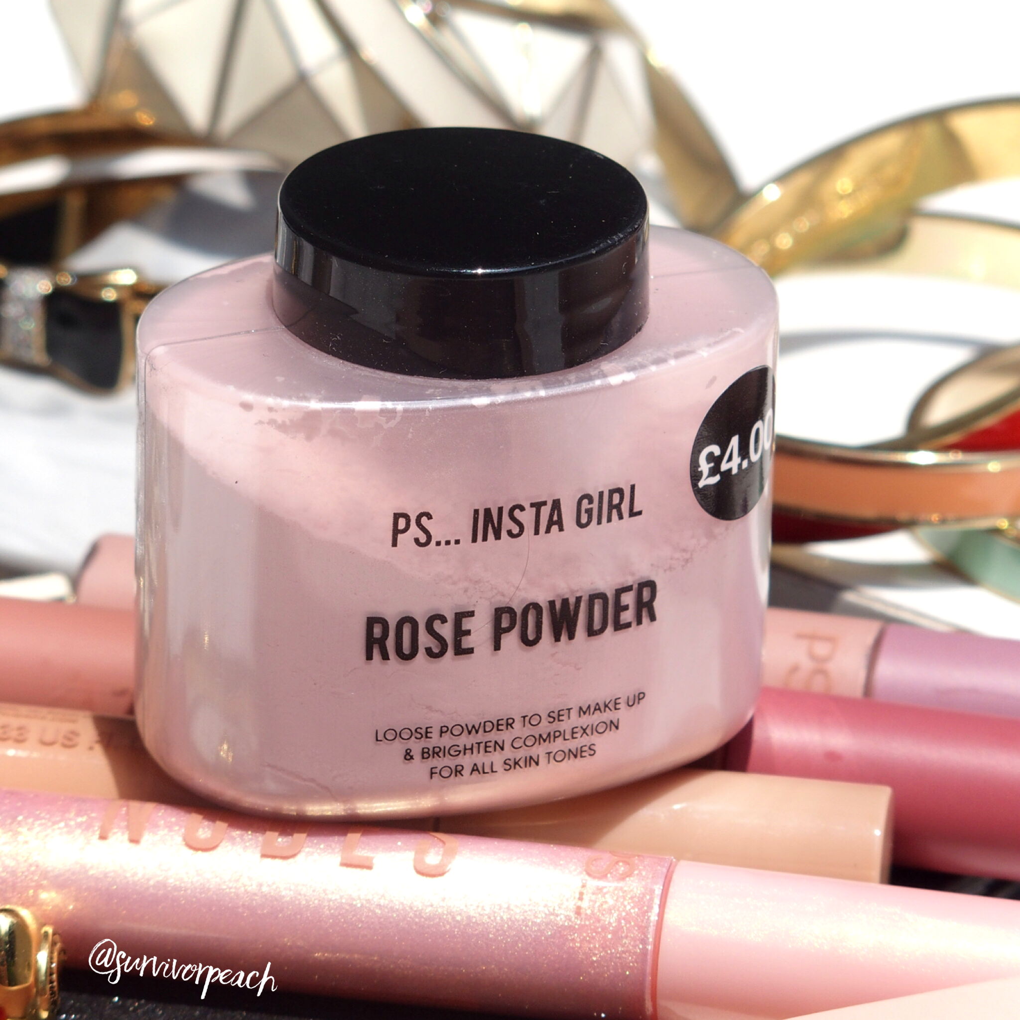 Primark PS Insta Girl Rose Powder