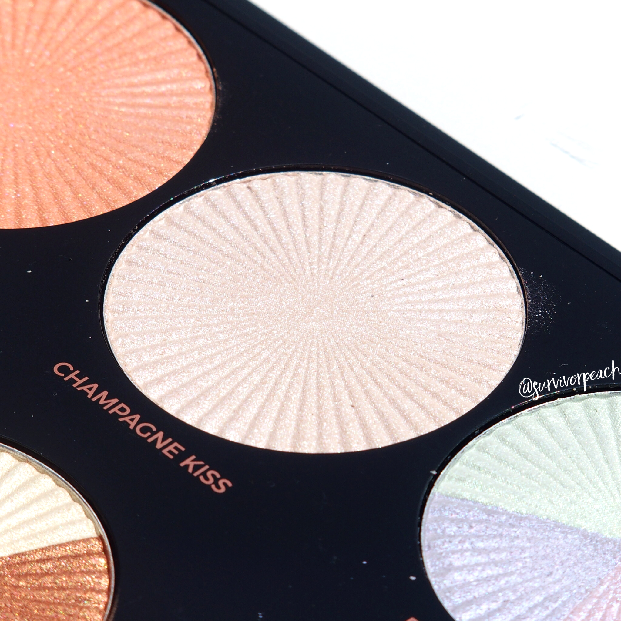 Makeup Revolution Pro HD Glow Getter palette shade Champagne Kiss
