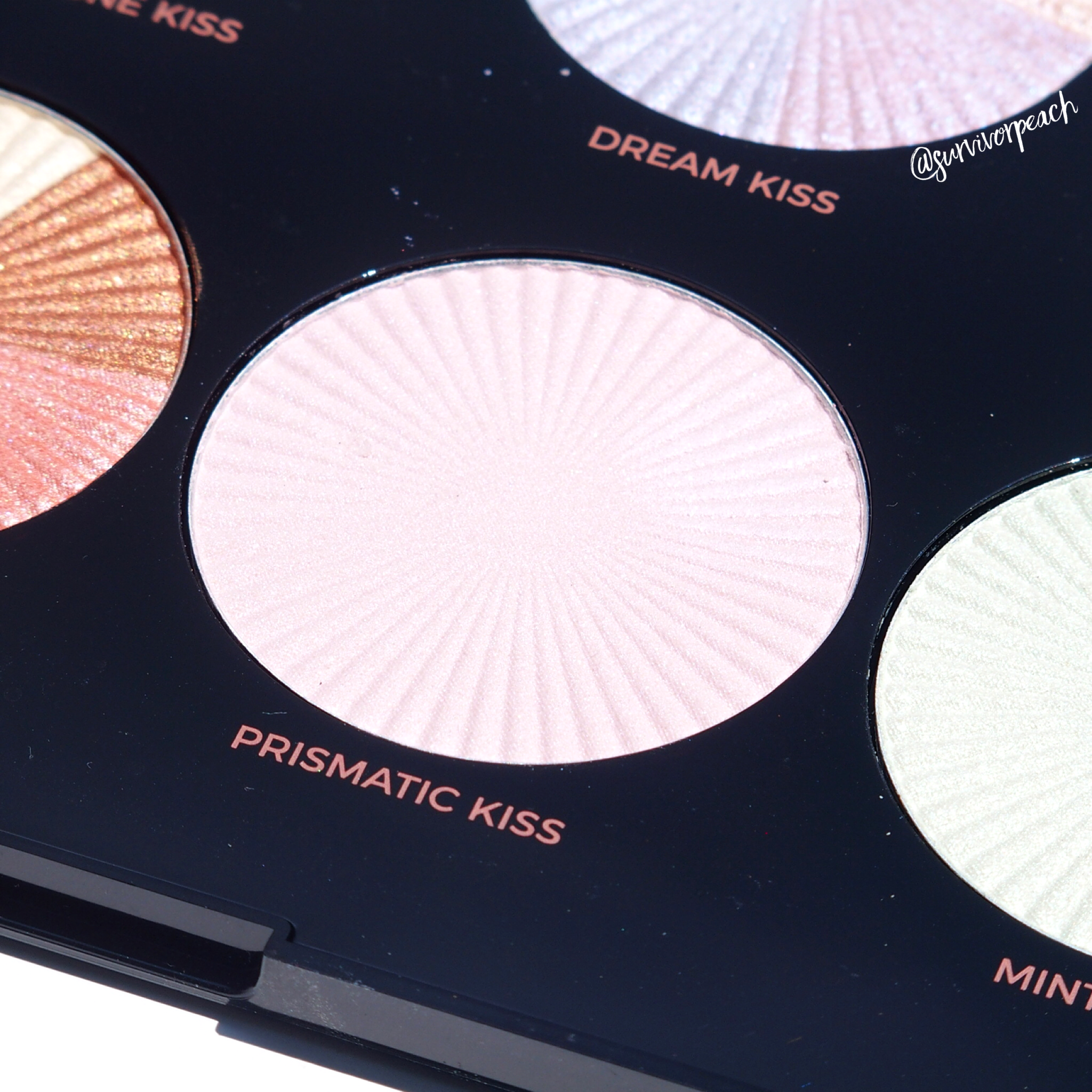 Makeup Revolution Pro HD Glow Getter palette shade Prismatic Kiss