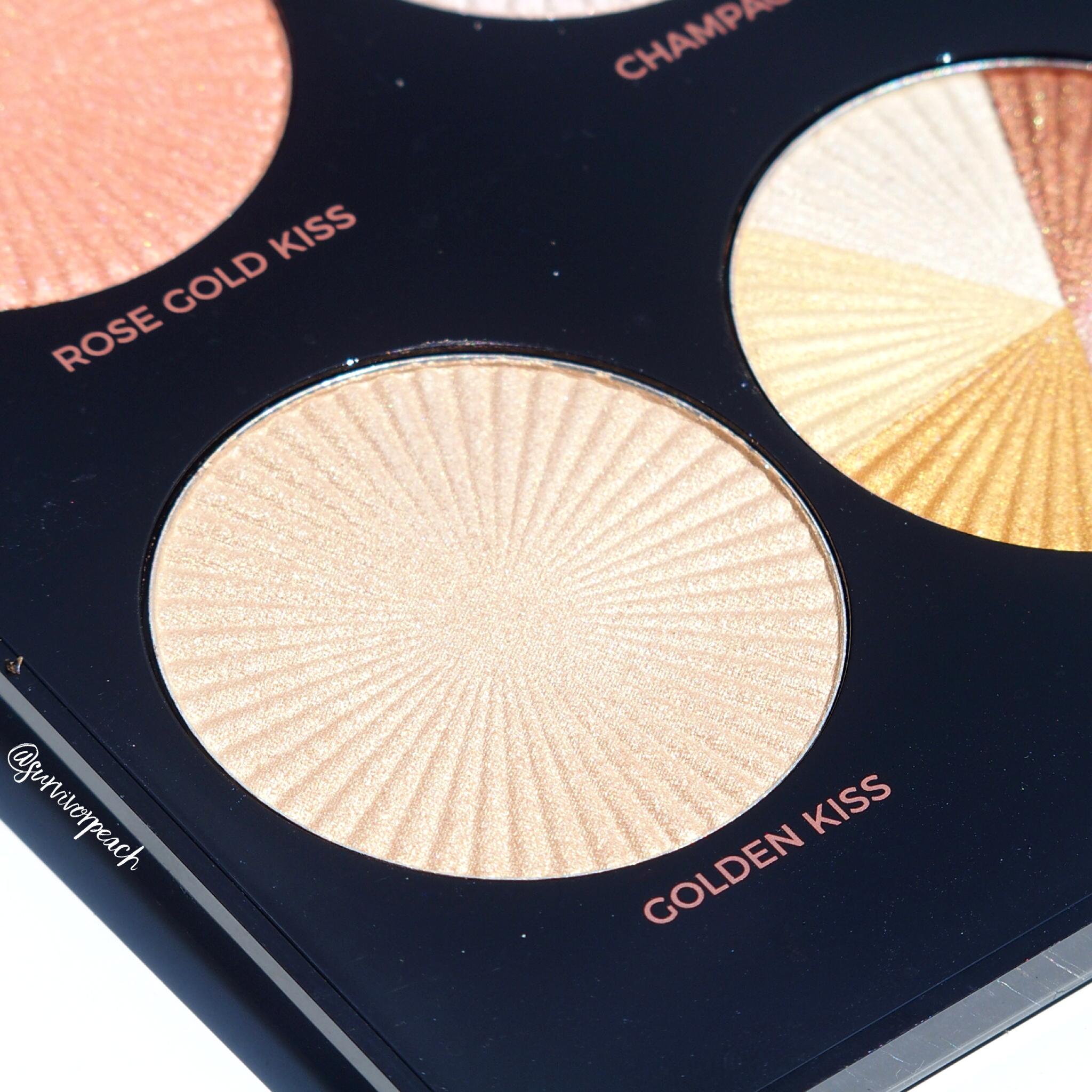 Makeup Revolution Pro HD Glow Getter palette shade Golden Kiss