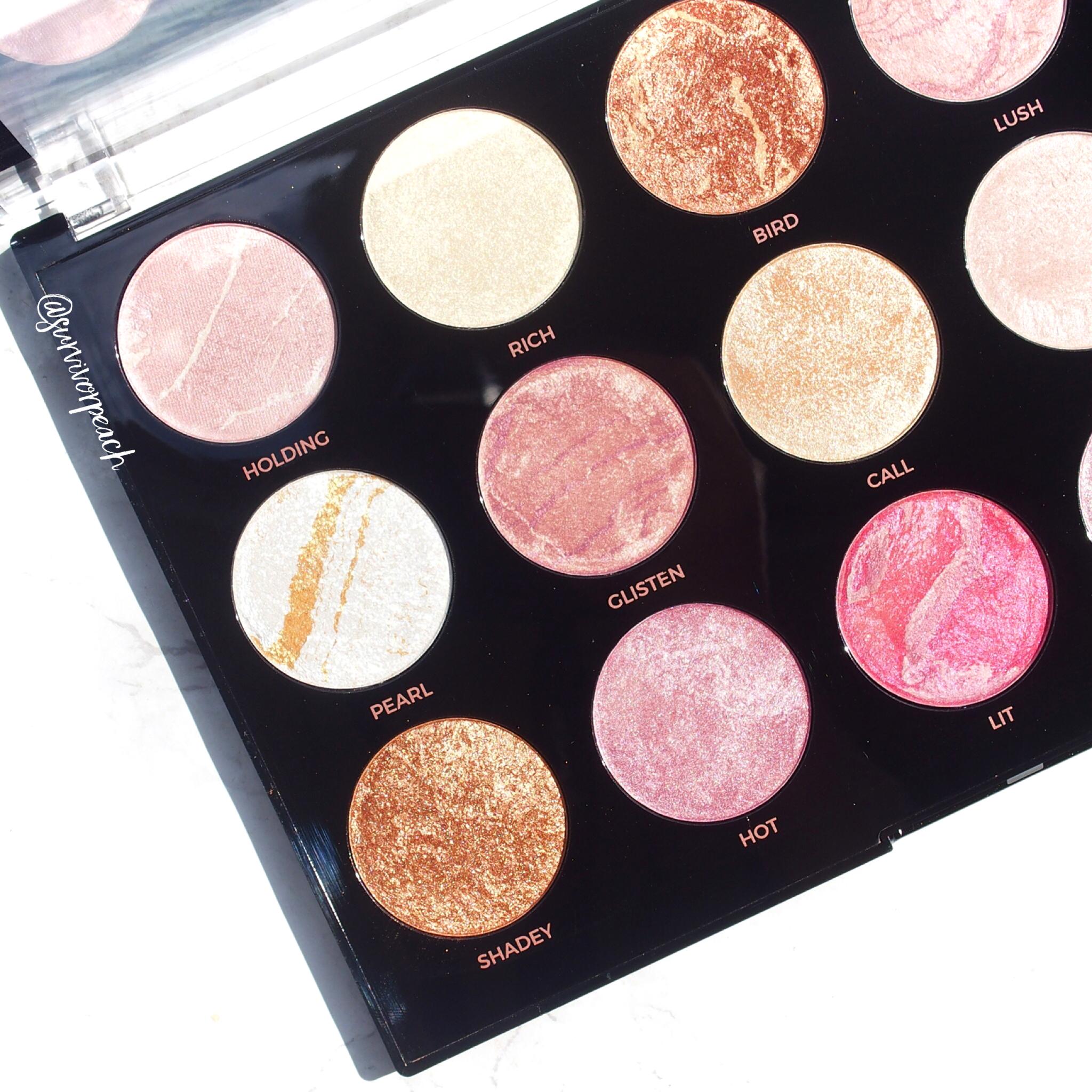 Makeup Revolution Pro HD Amplified Get Baked Palette