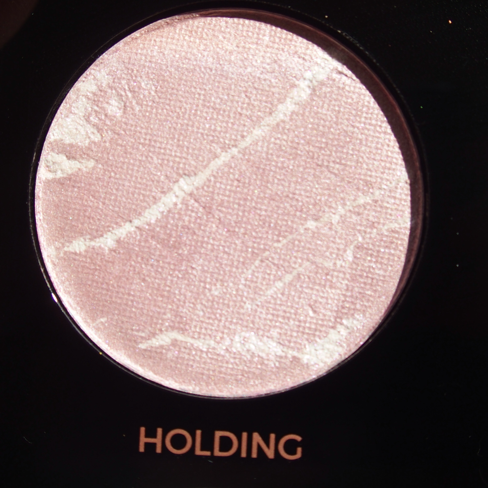Makeup Revolution Pro HD Amplified Get Baked Palette swatches - Holding
