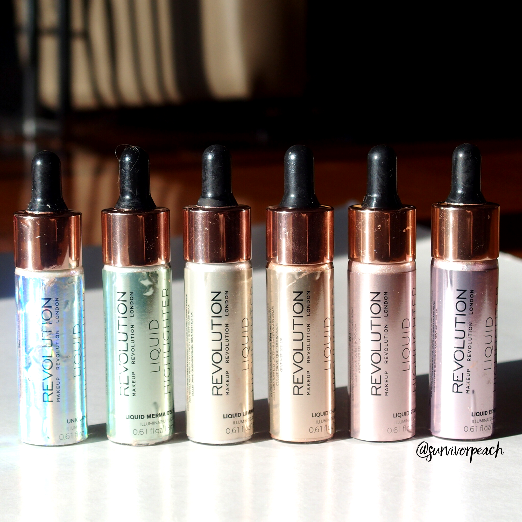 Revolution London Liquid highlighters
