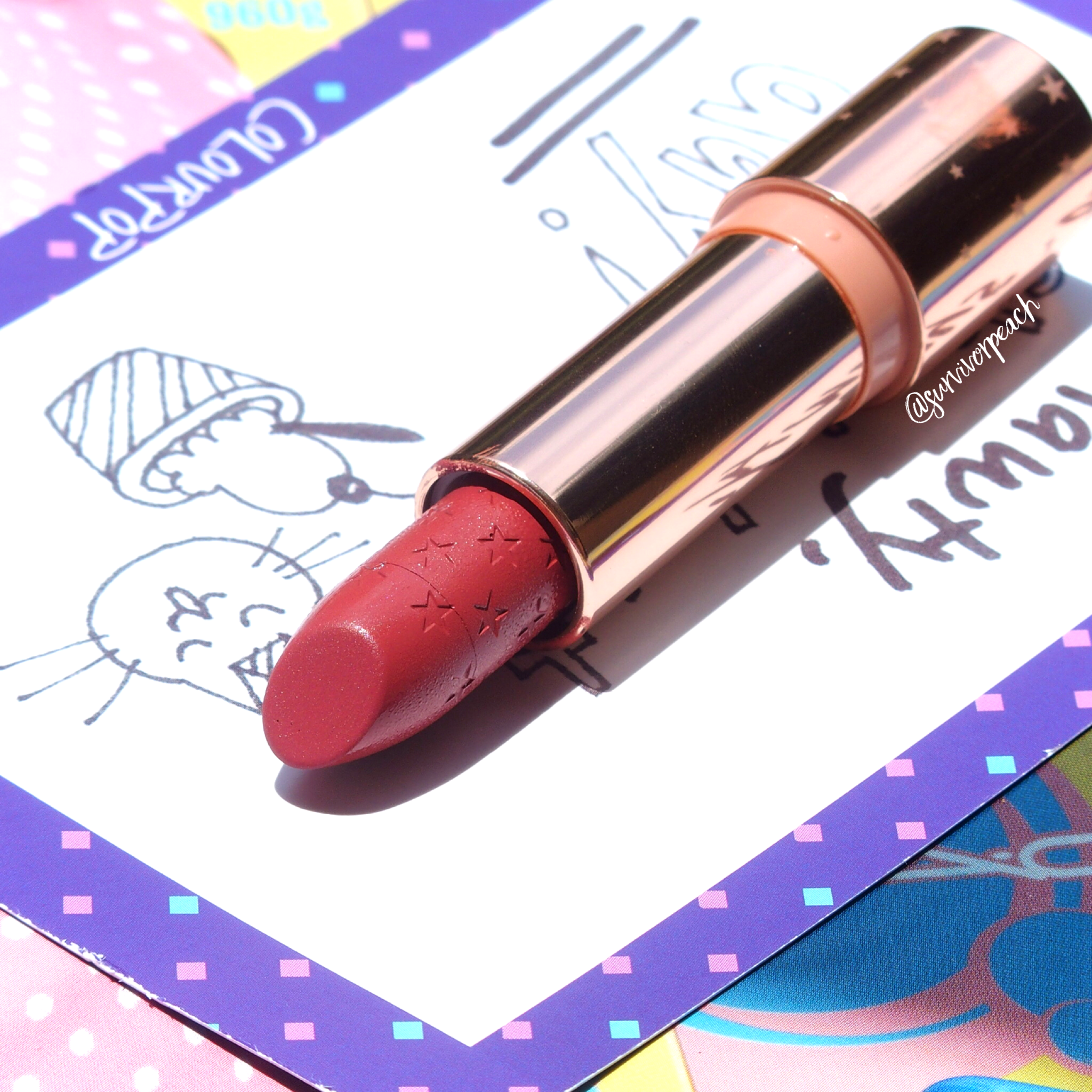 Colourpop Matte Lux Lipstick in Little League