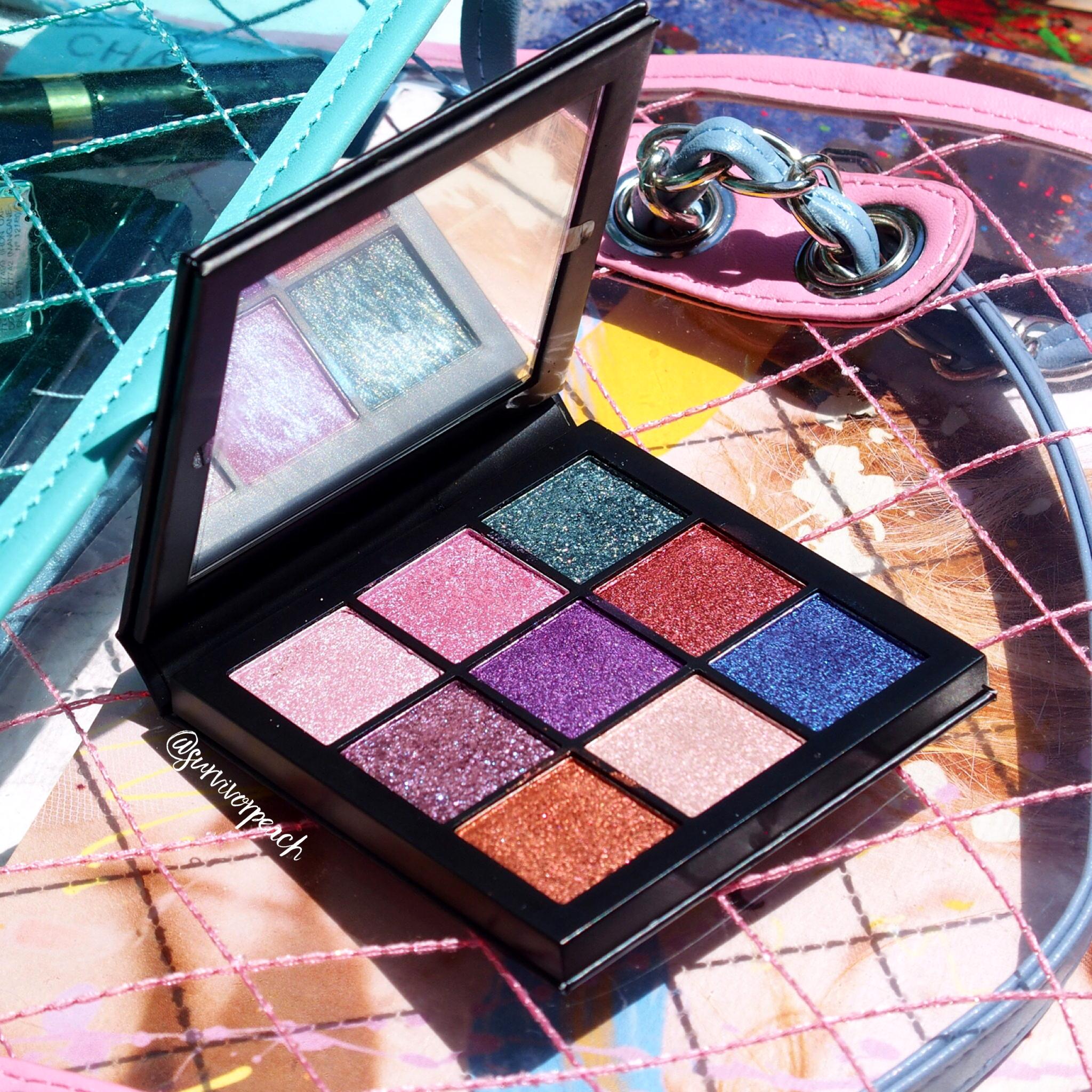 Huda Beauty Gemstone Obsessions palette