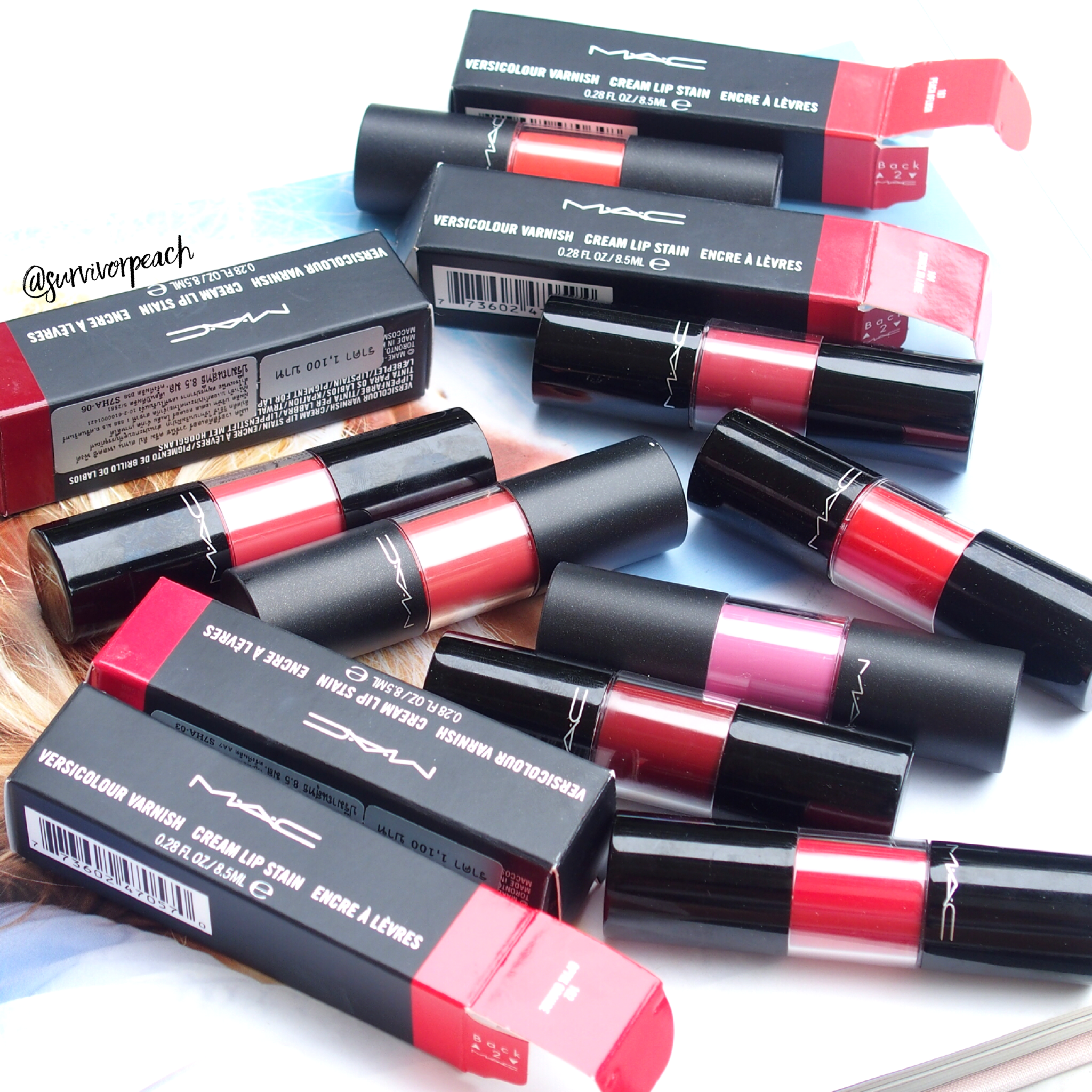 Mac Versicolor Varnish Cream Lip Stain