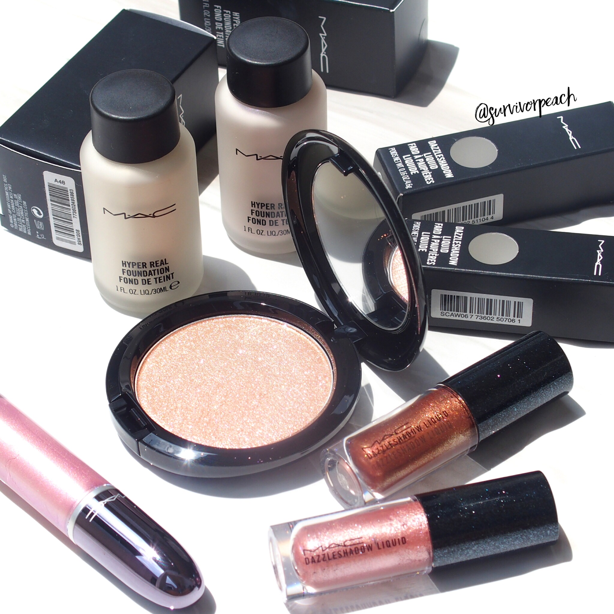 MAC Supreme Beam + Dazzle Collection