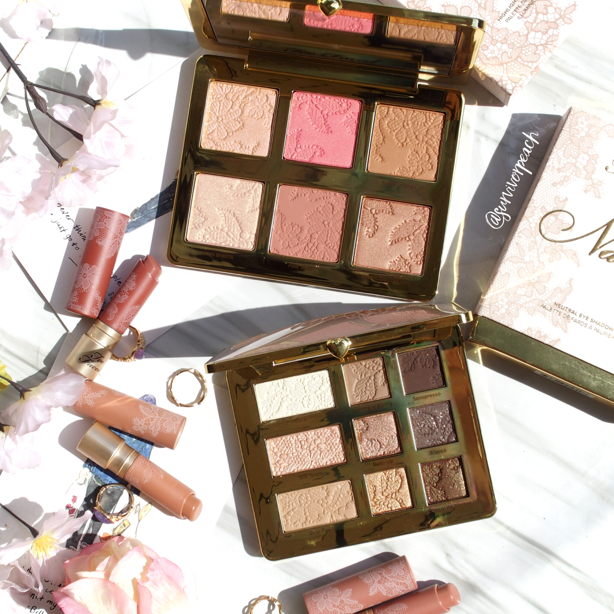 Toofaced Natural Nudes Collection