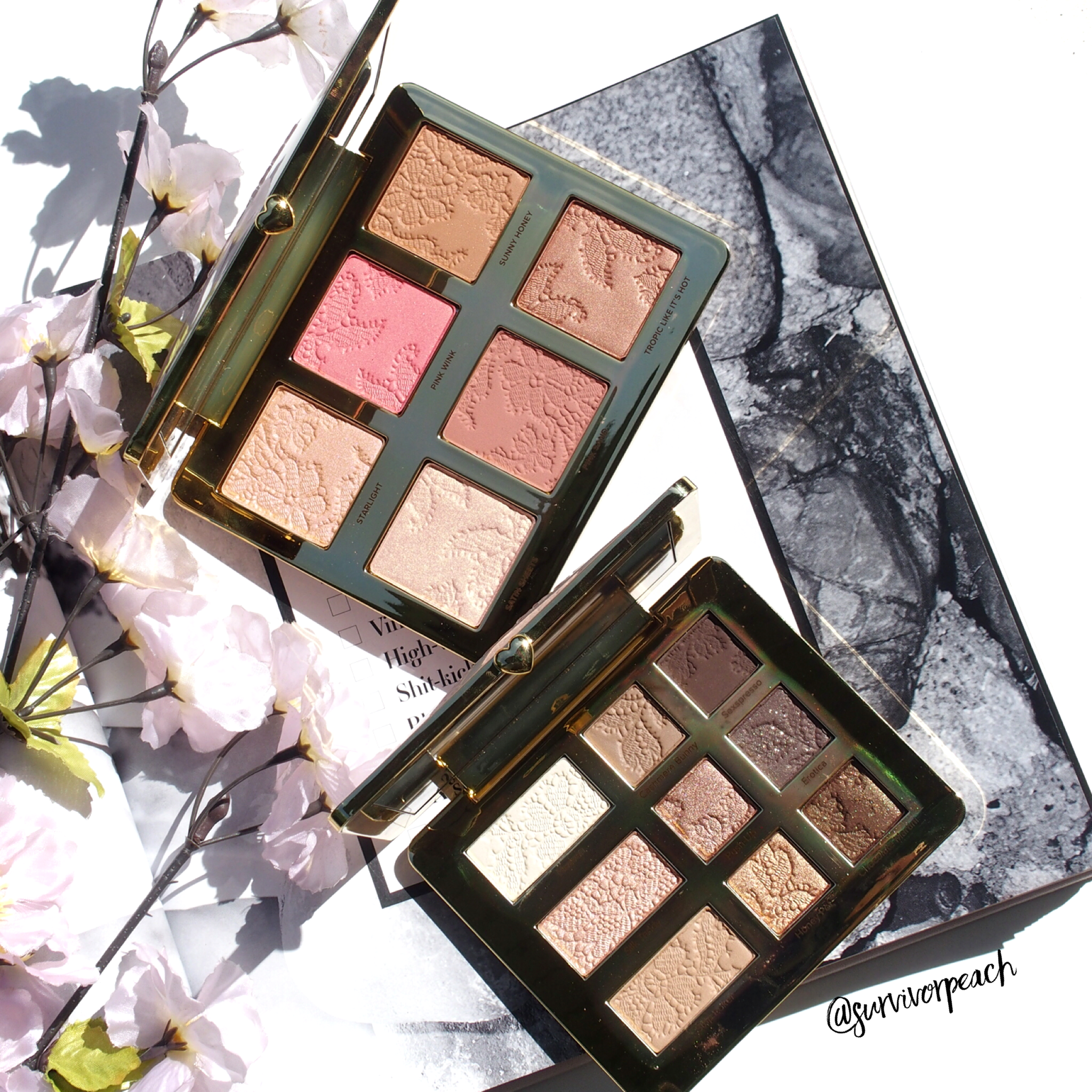 Toofaced Natural Nudes Collection palettes