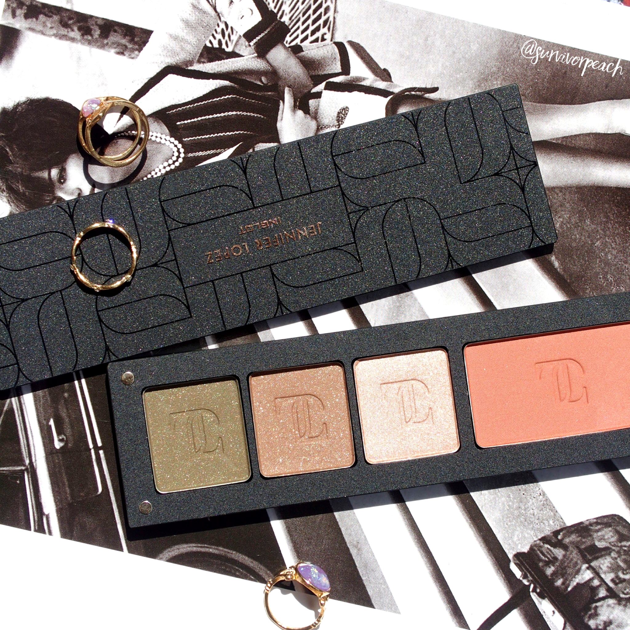Inglot customized Freedom palette - JLo collab