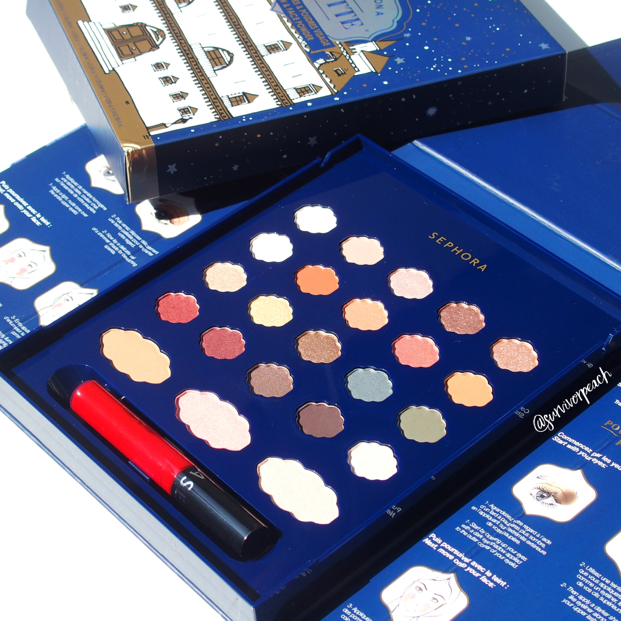Sephora Collection Once Upon a Palette Eye Shadow & Face Powder palette.